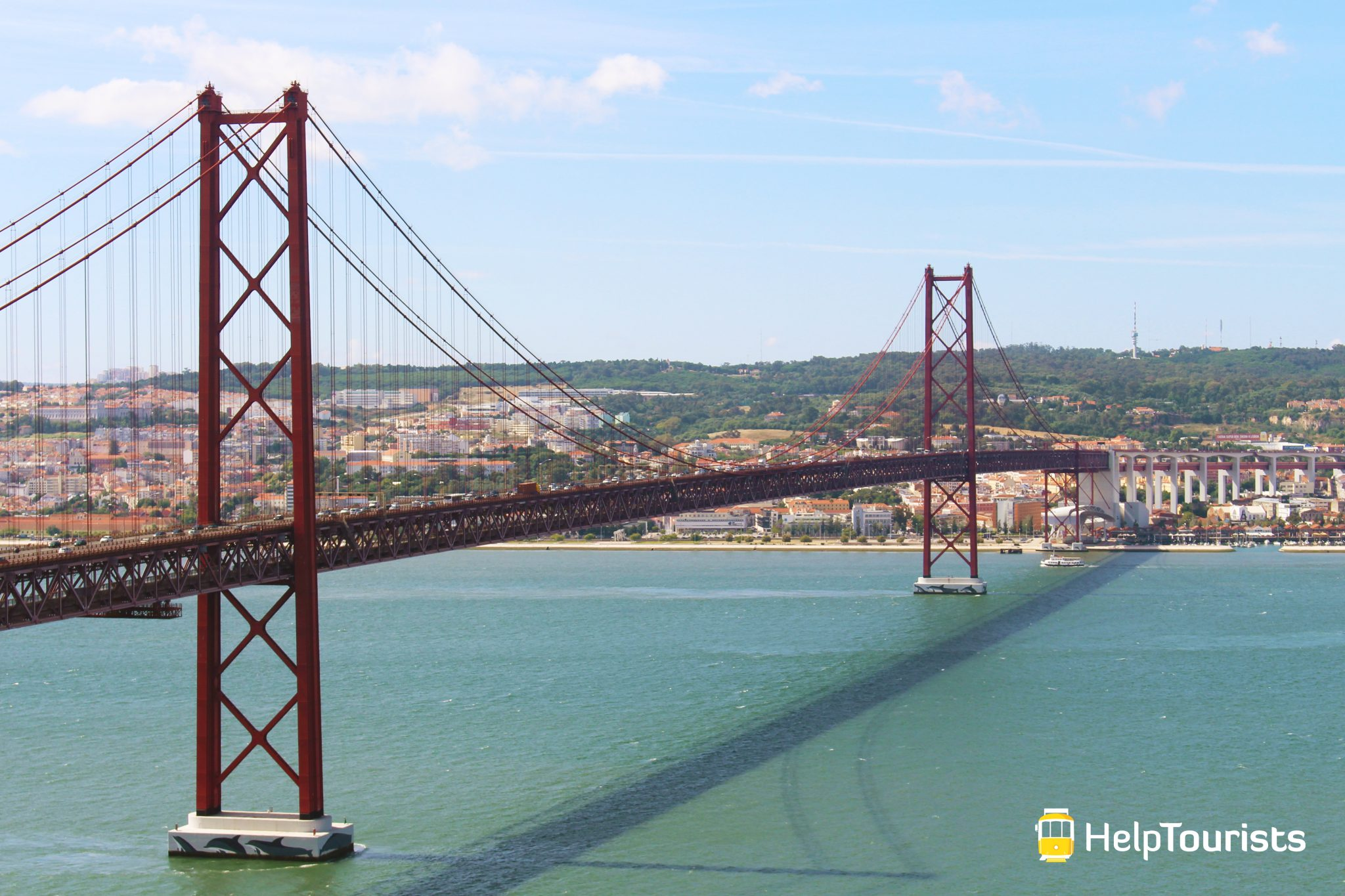 Lissabon Brücke 25 April Tejo