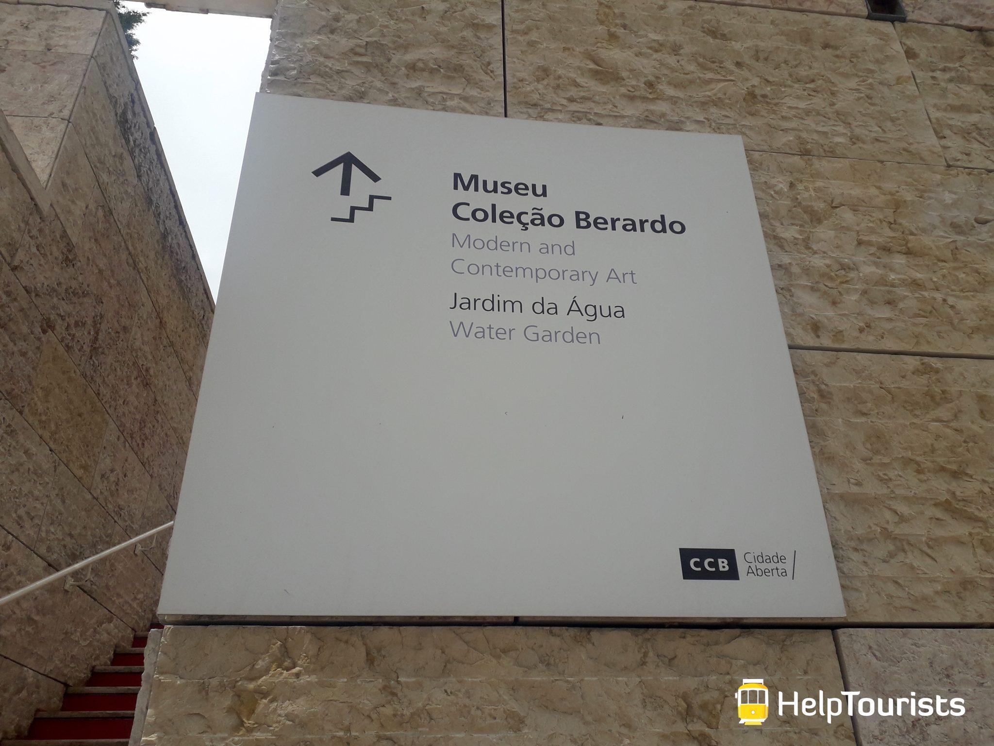 Lissabon Berardo Kollektion Belem Besichtigung
