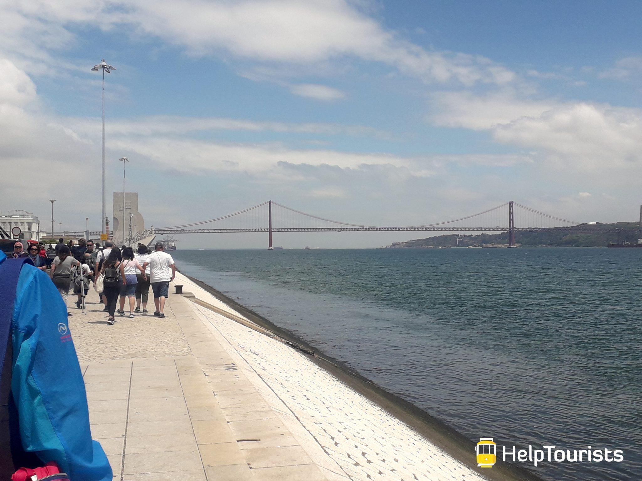 Lissabon Spaziergang Tejo Belem