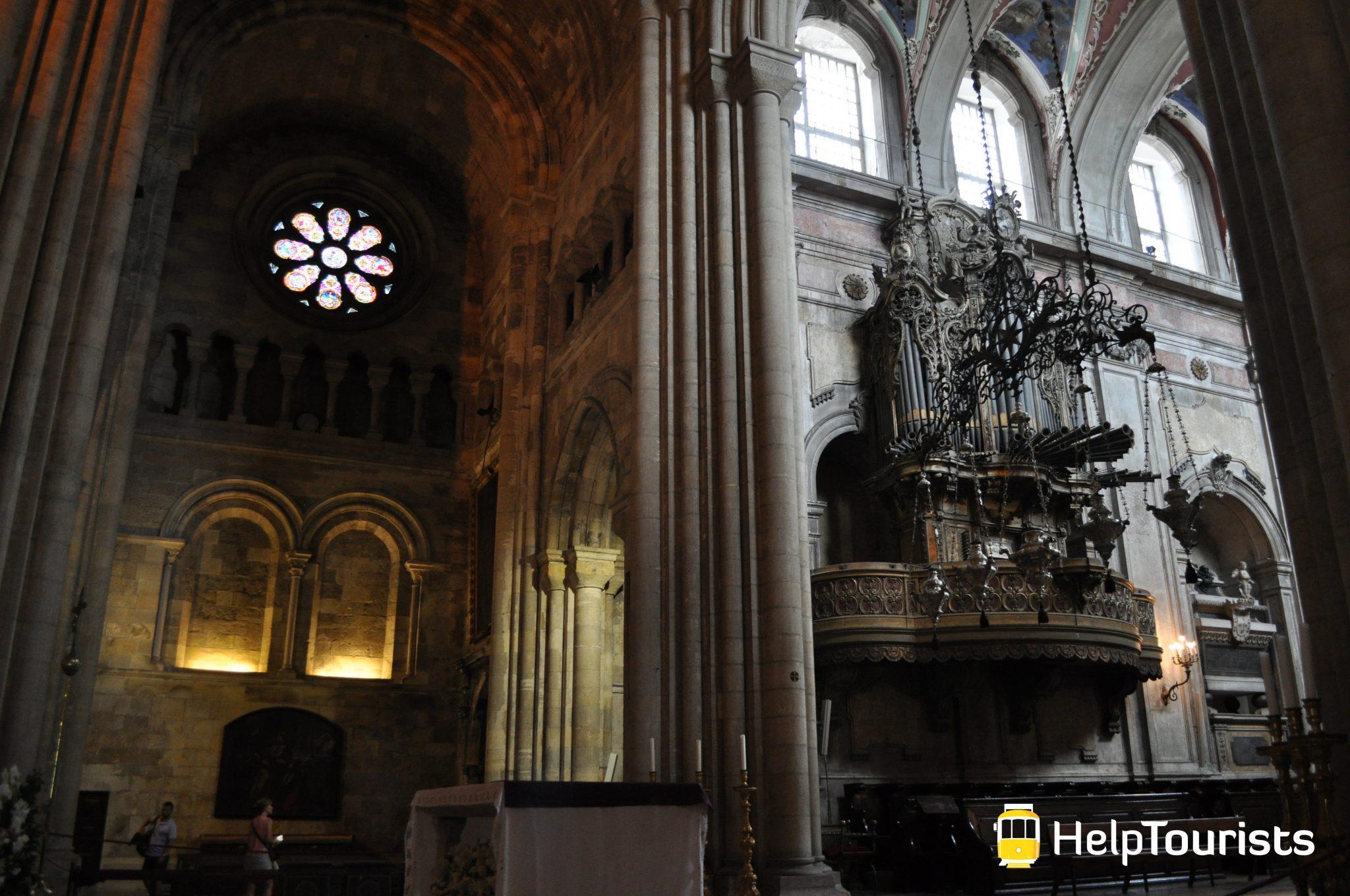Lissabon Kathedrale Sé Architektur