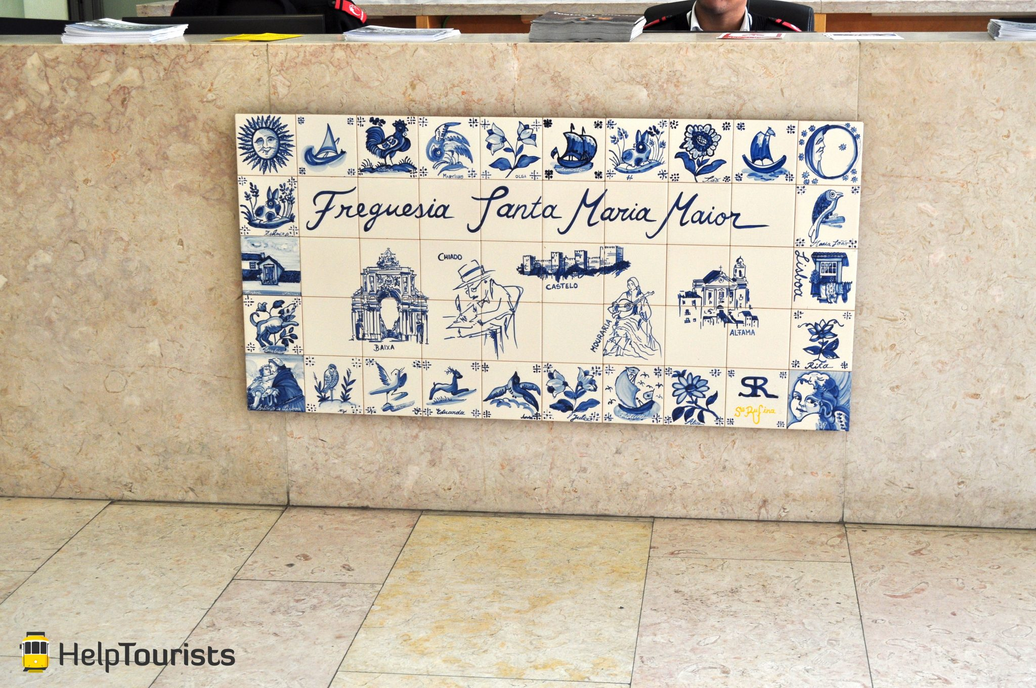 Lissabon Alfama Azulejos