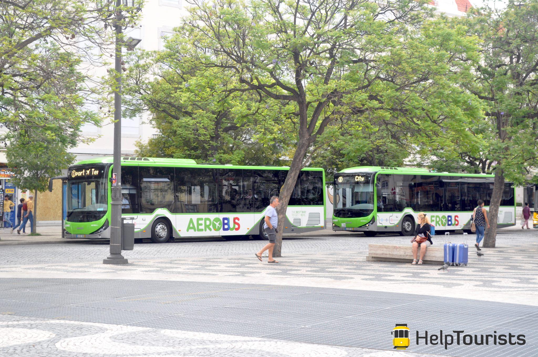 Lissabon Bus Flughafentransfer