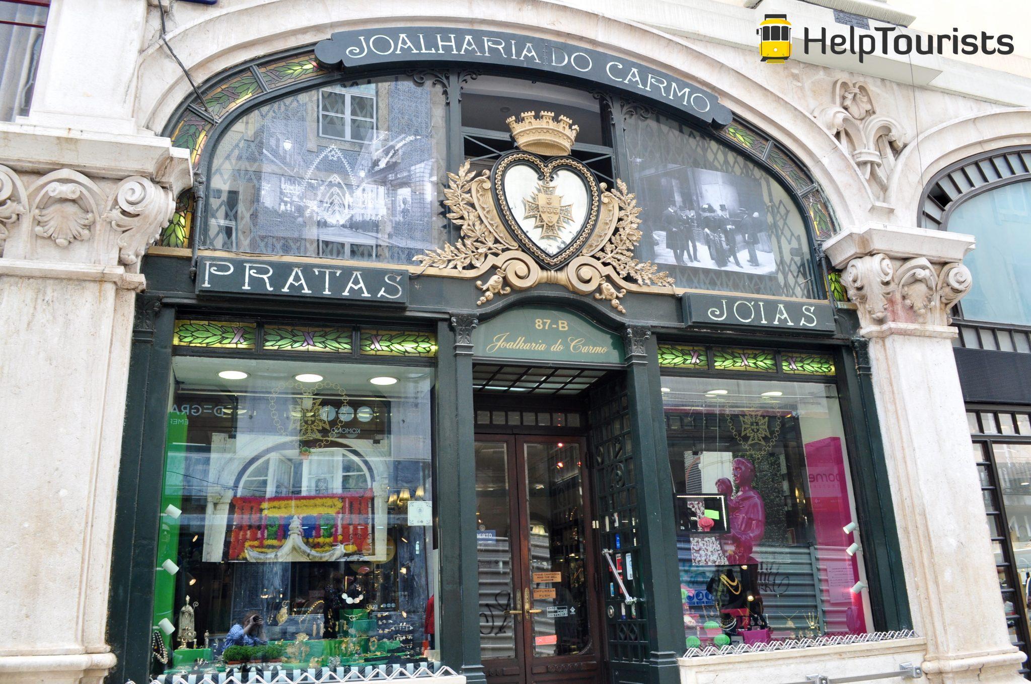 Lissabon Shopping in Chiado