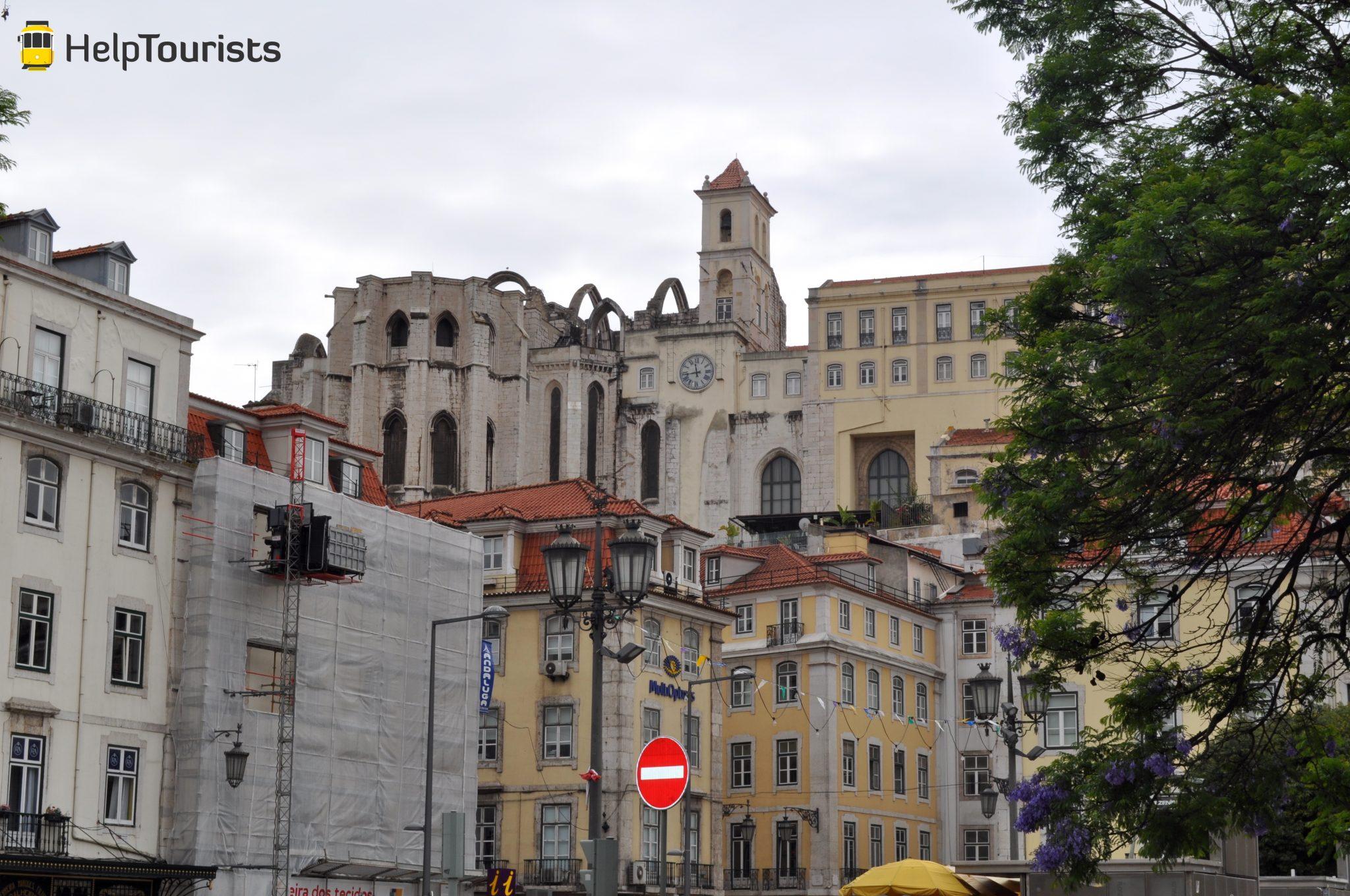 Lissabon Convento do Carmo Viertel