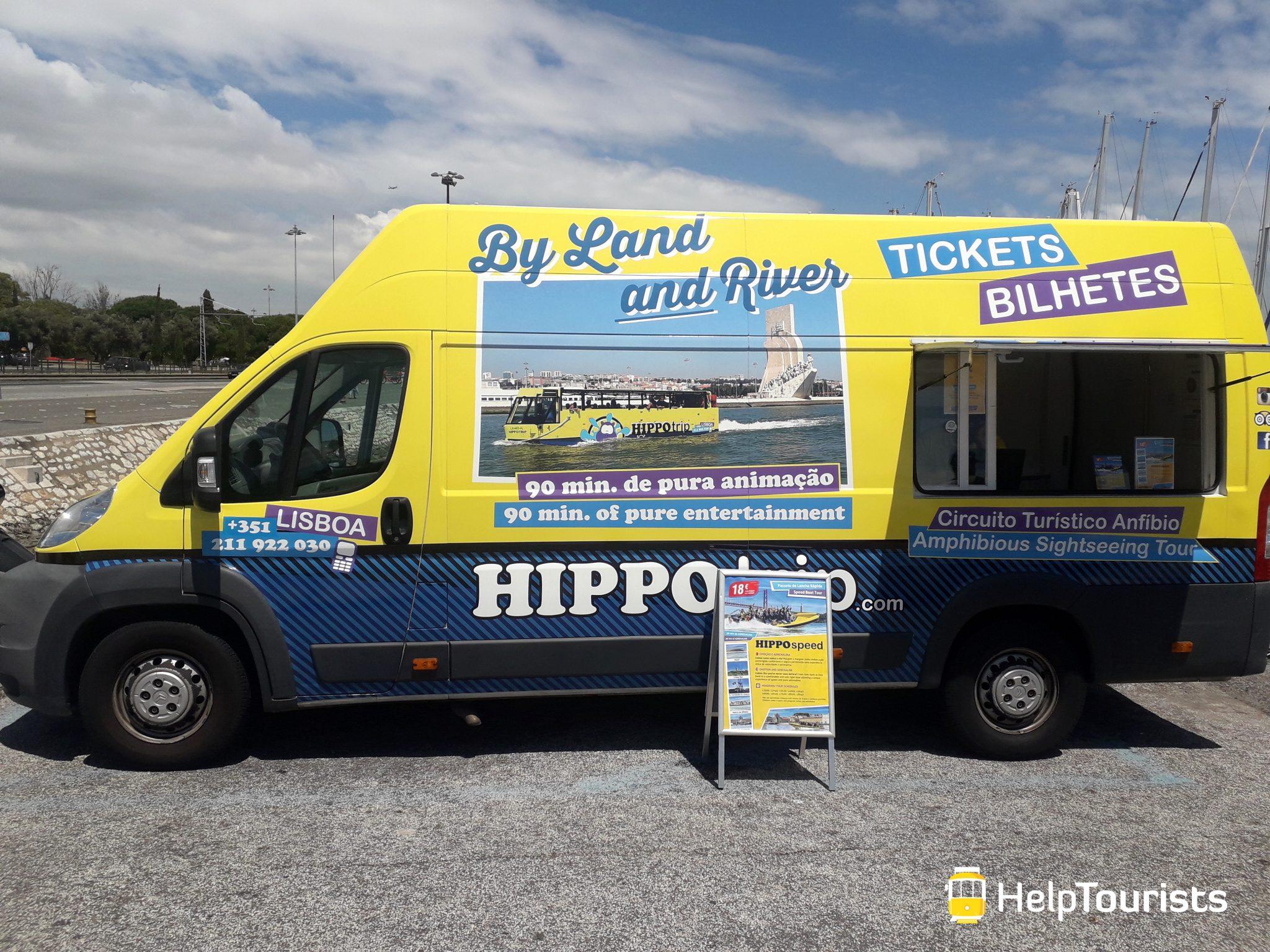 Lissabon Hippo Bus