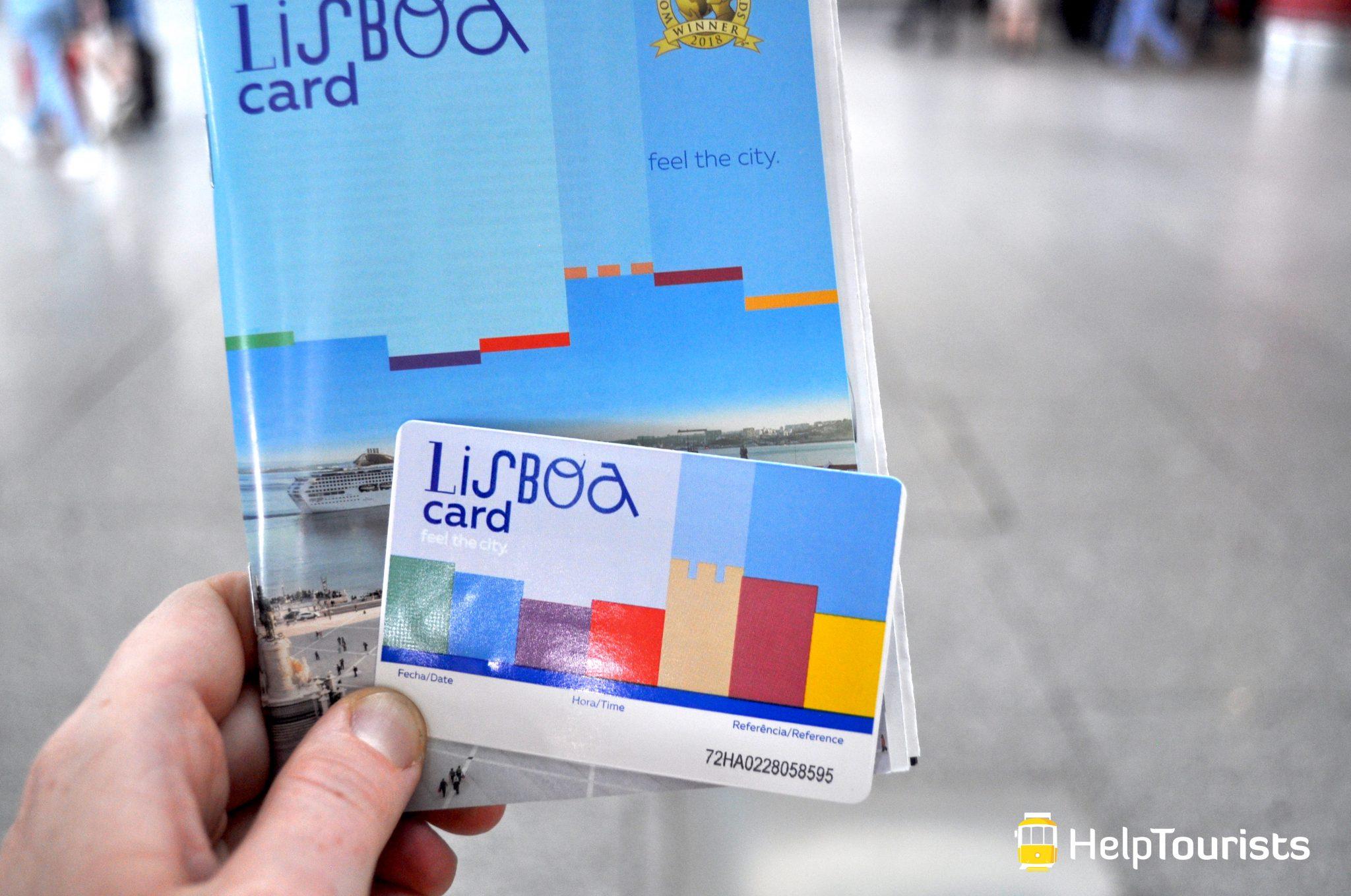 Lissabon lisboa card 2019