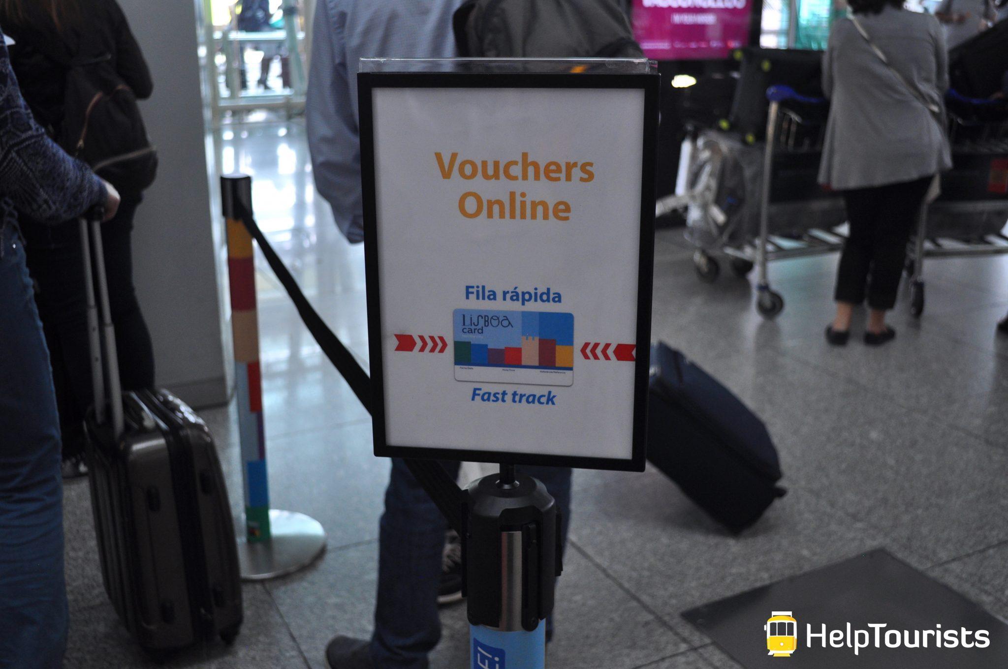 Lissabon Flughafen Lisboa Card vorbestellen