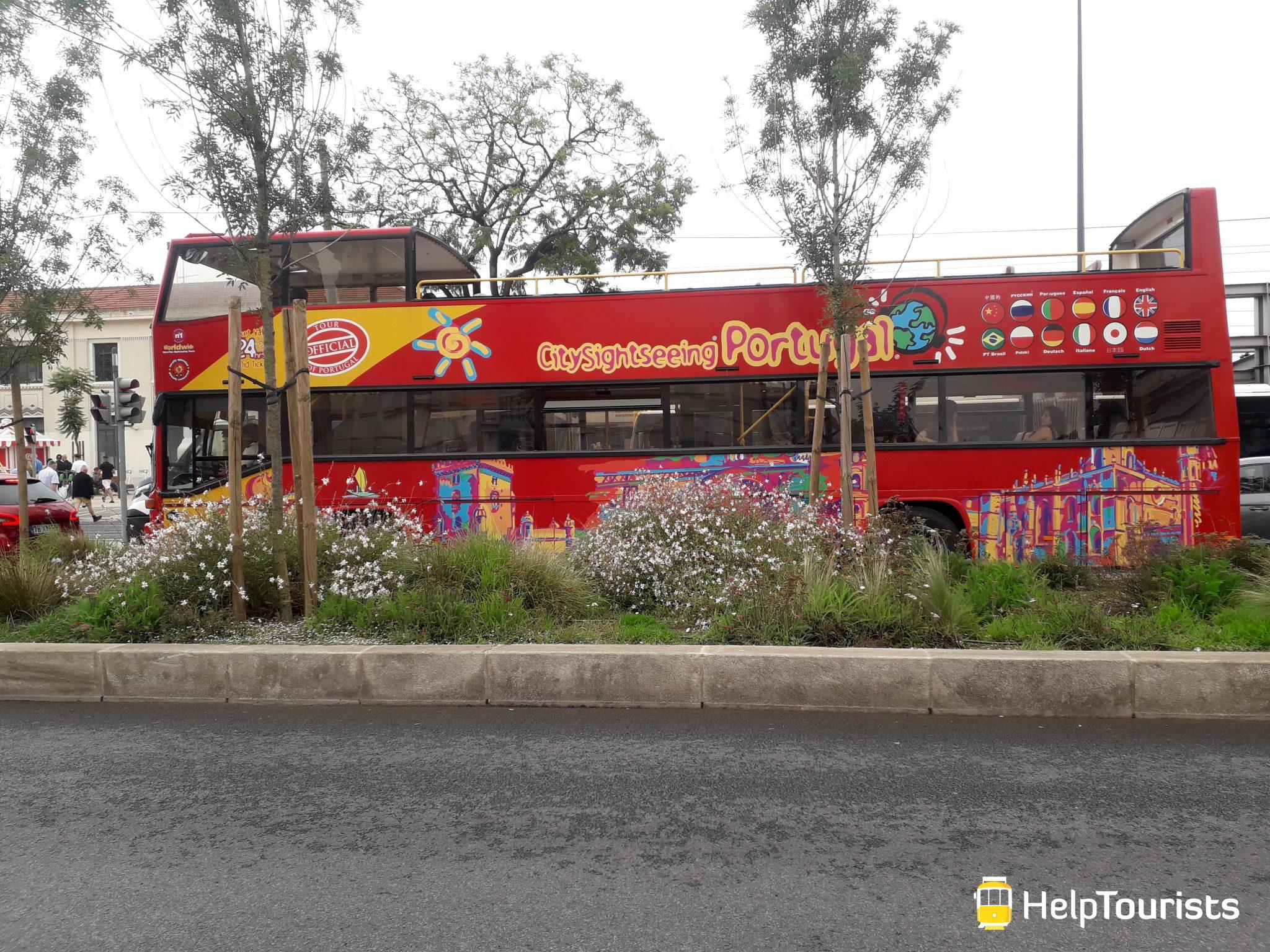 Lissabon bus hop on hop off