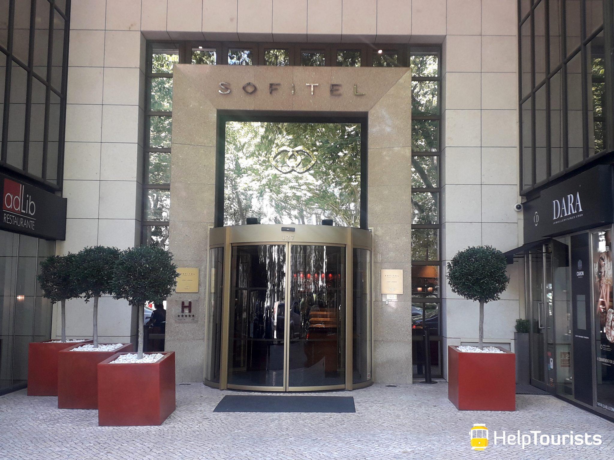 Lissabon luxus hotel sofitel