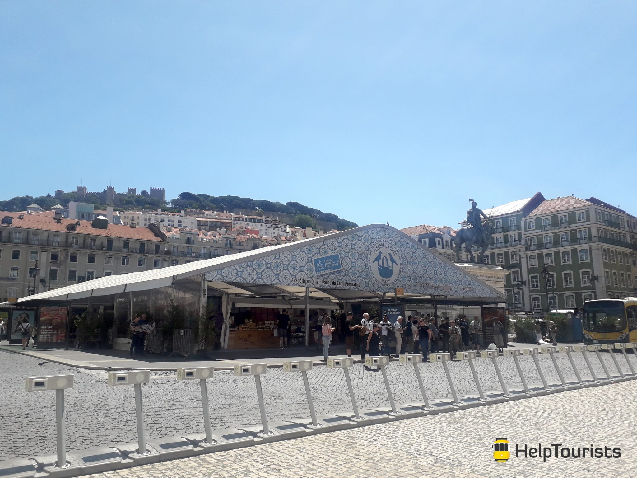 Lissabon Platz Figueira