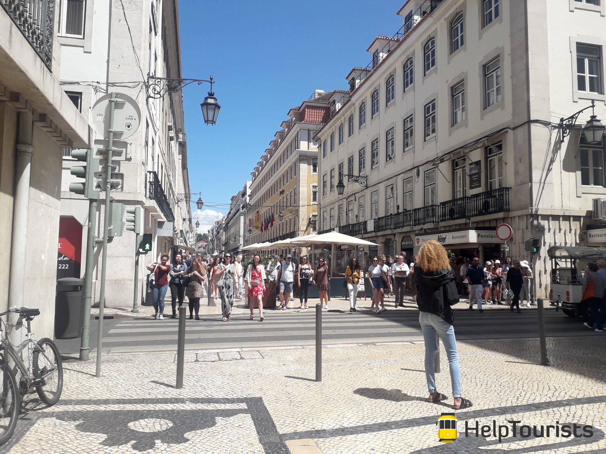 Lissabon Shopping Sommer