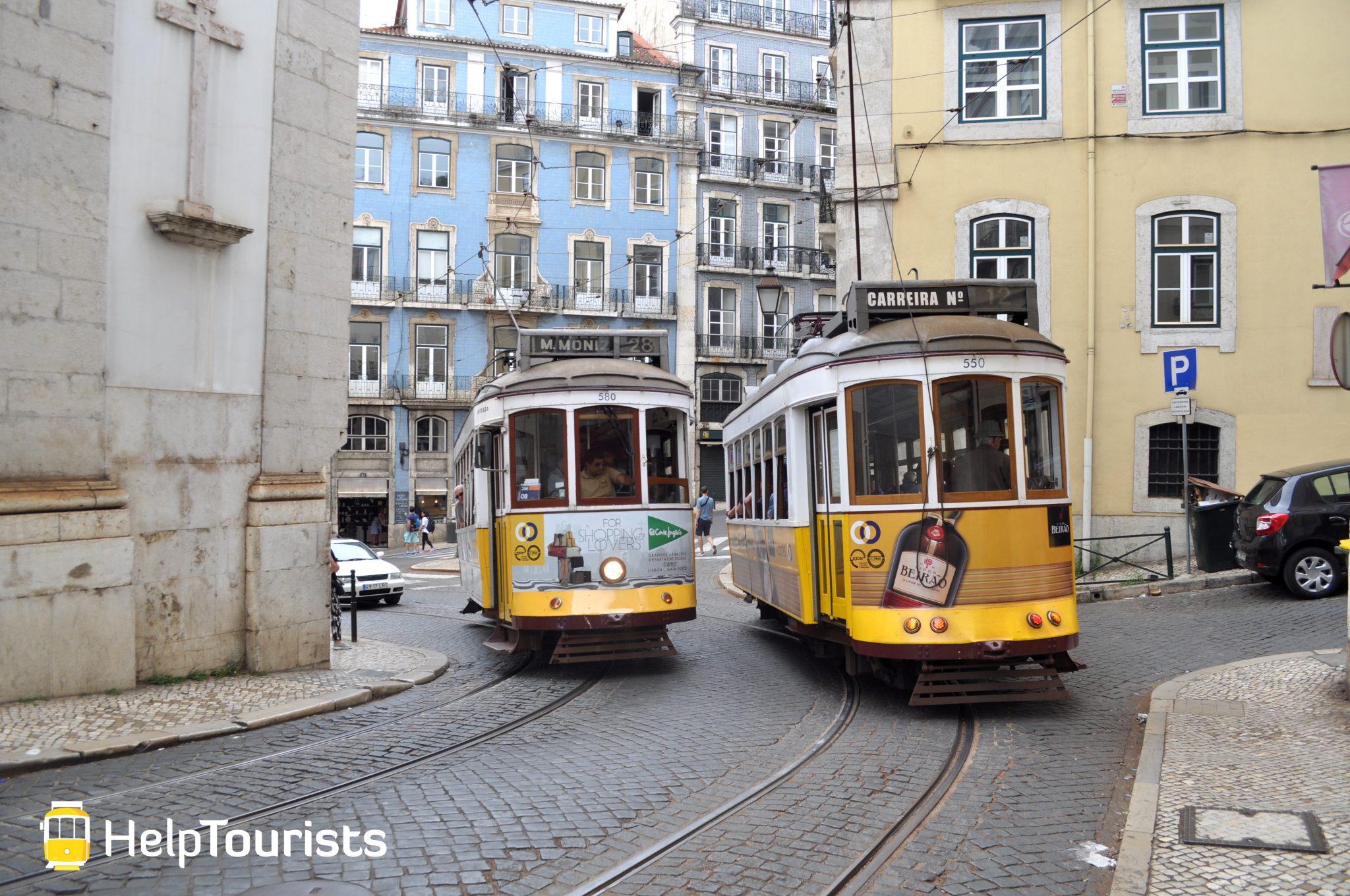 Lissabon Tram 28 Carreira