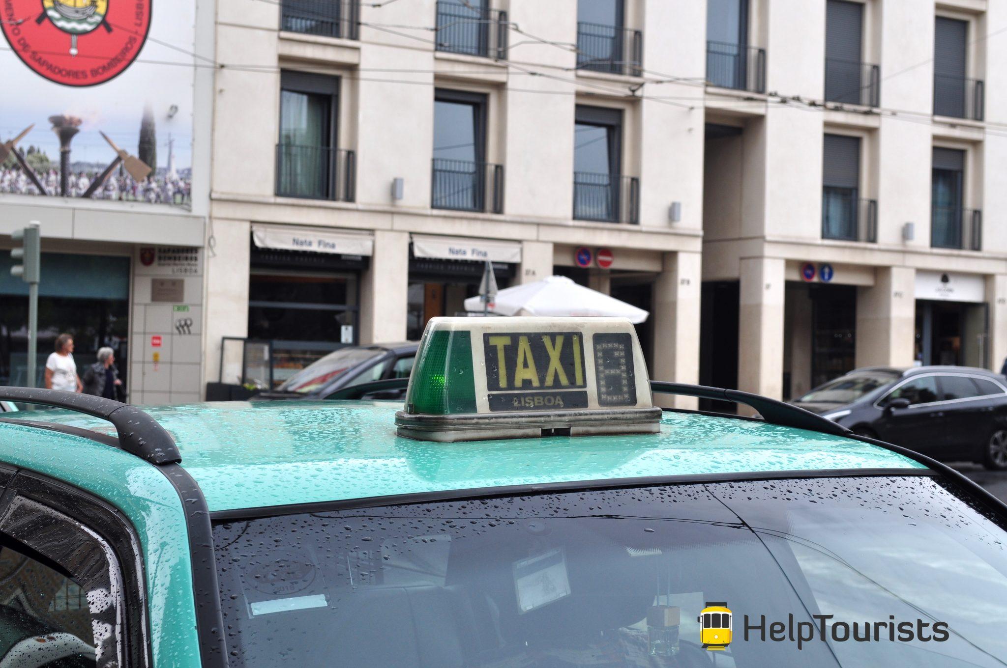Lissabon Taxi Lisboa frei