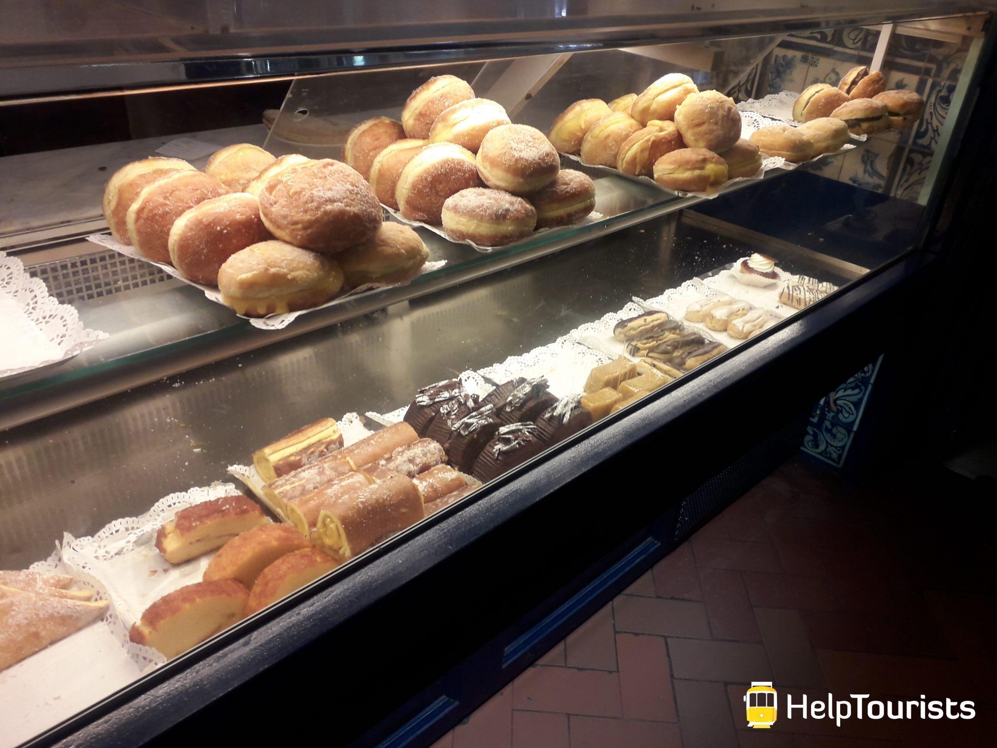 Lissabon Bäckerei pasteis de belém