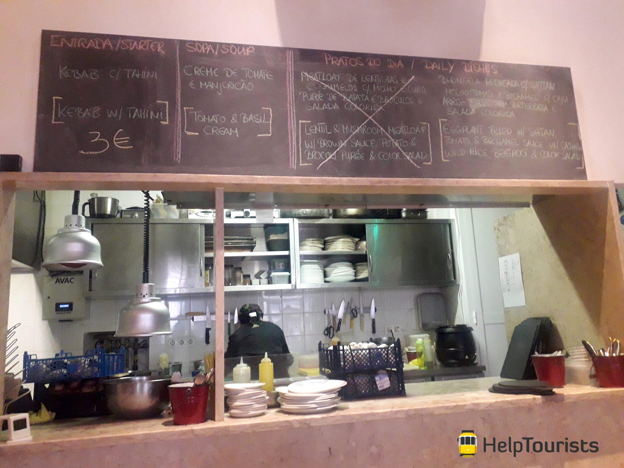 Lissabon vegetarisches Restaurant
