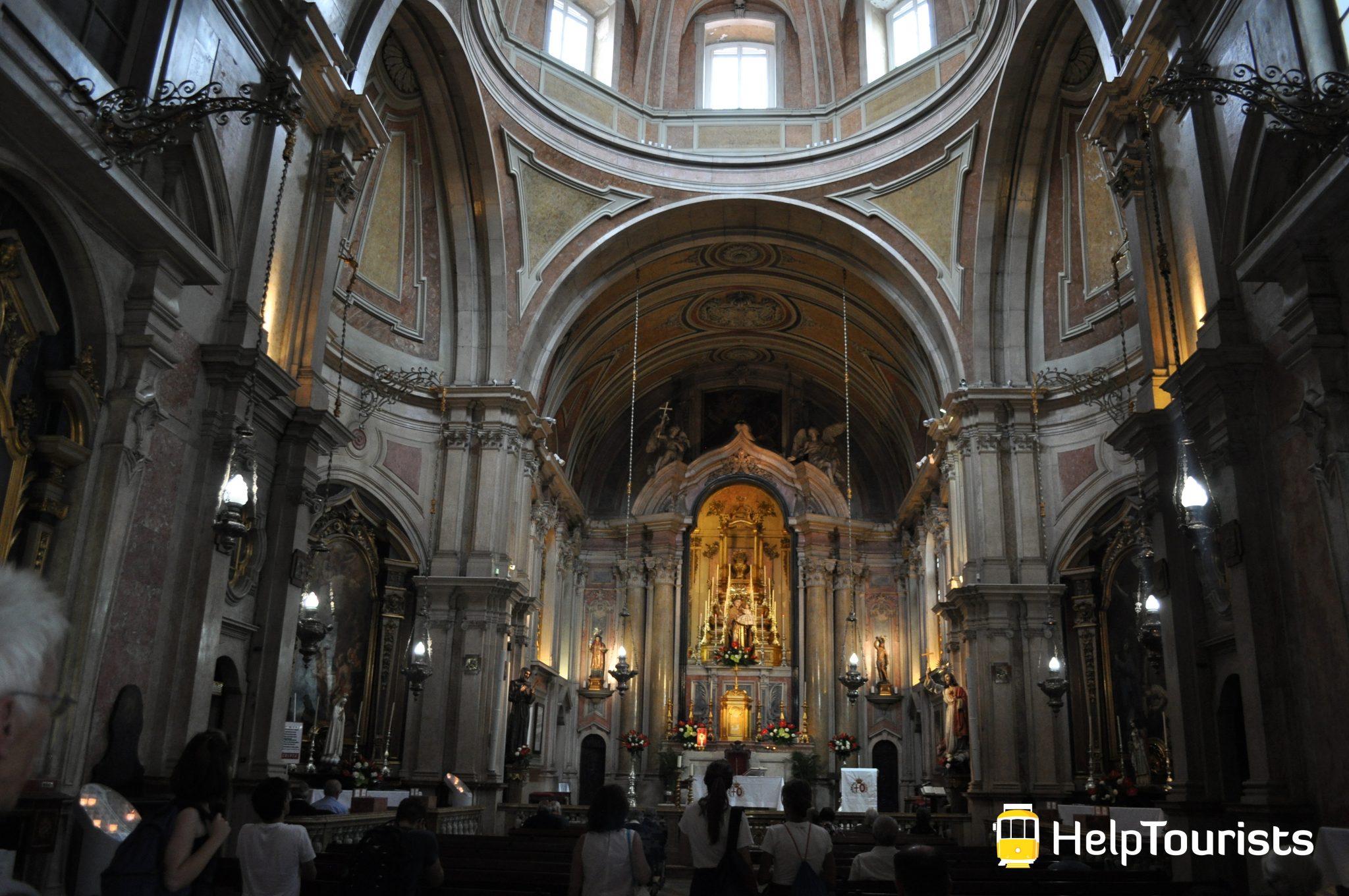 Lissabon Kirche Santo Antonio