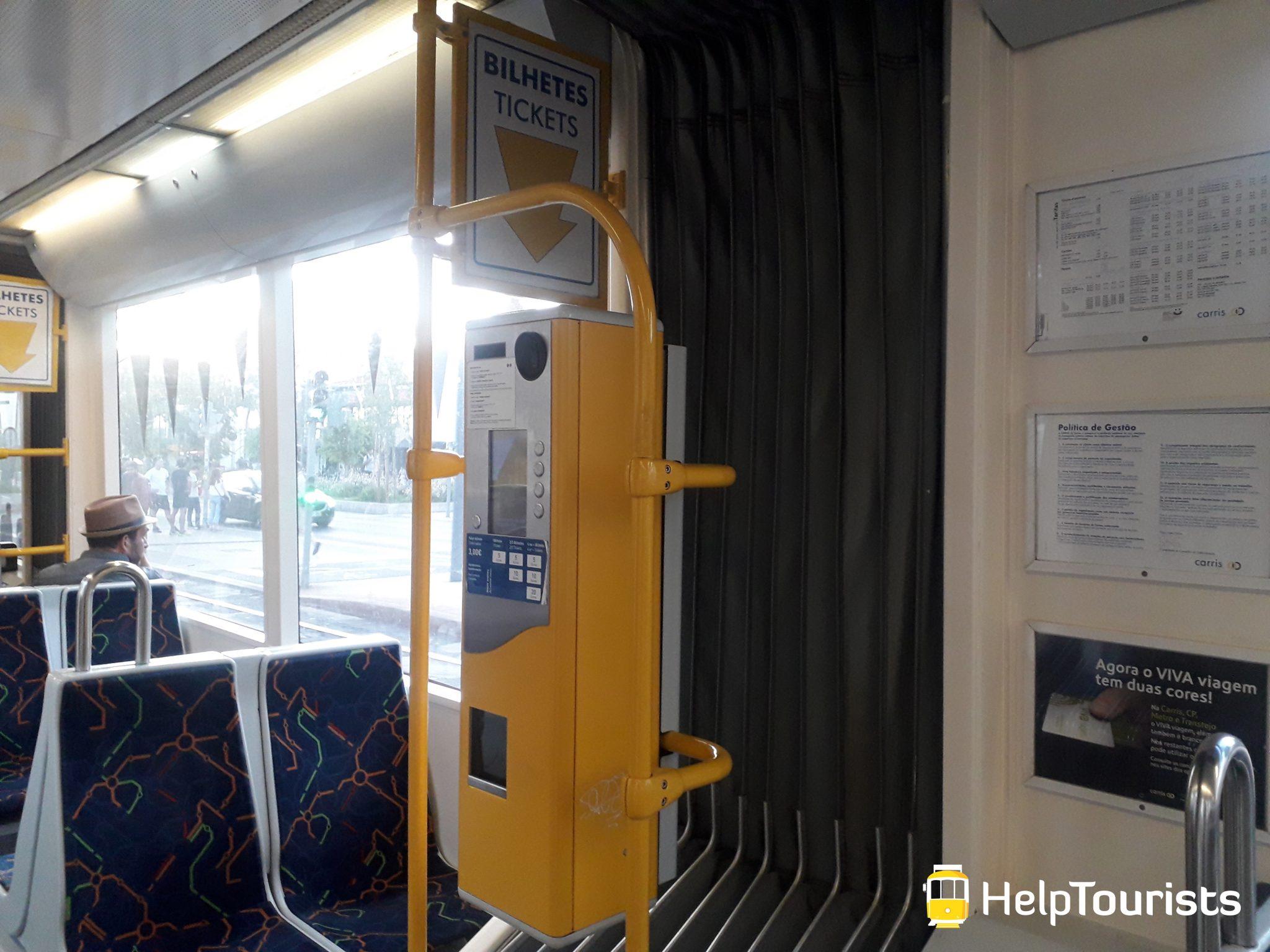 Lissabon Tram 25 Tickets