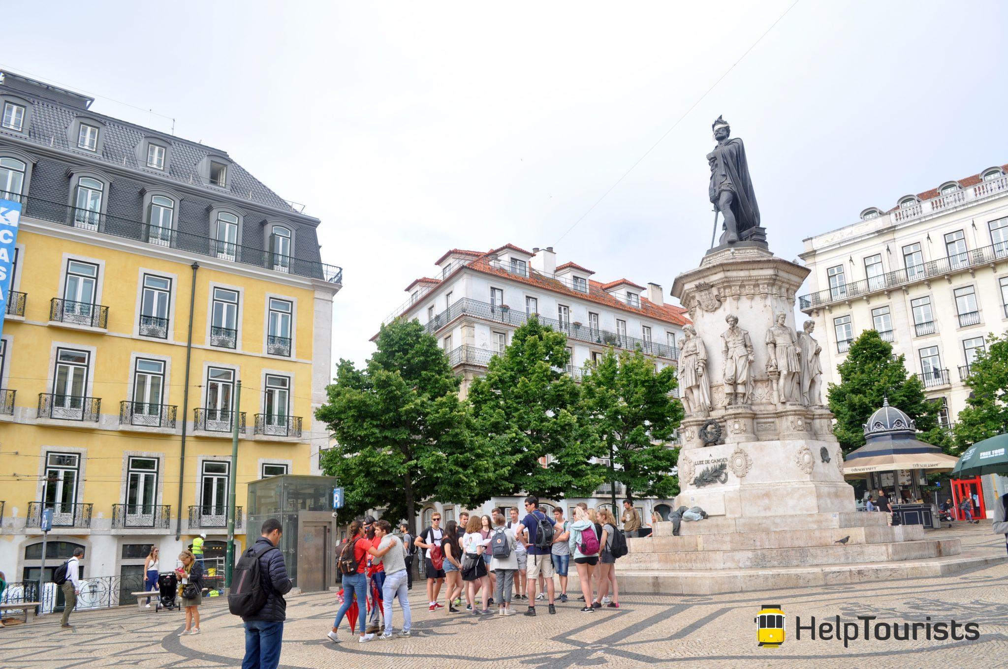 Lissabon Stadtführung Rossio