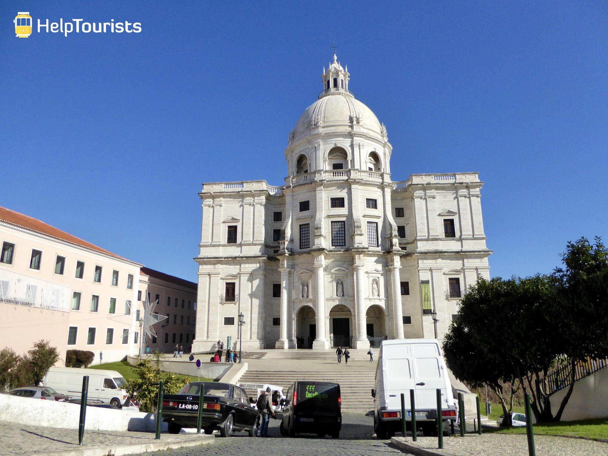 Lissabon Basilika Estrela ganz