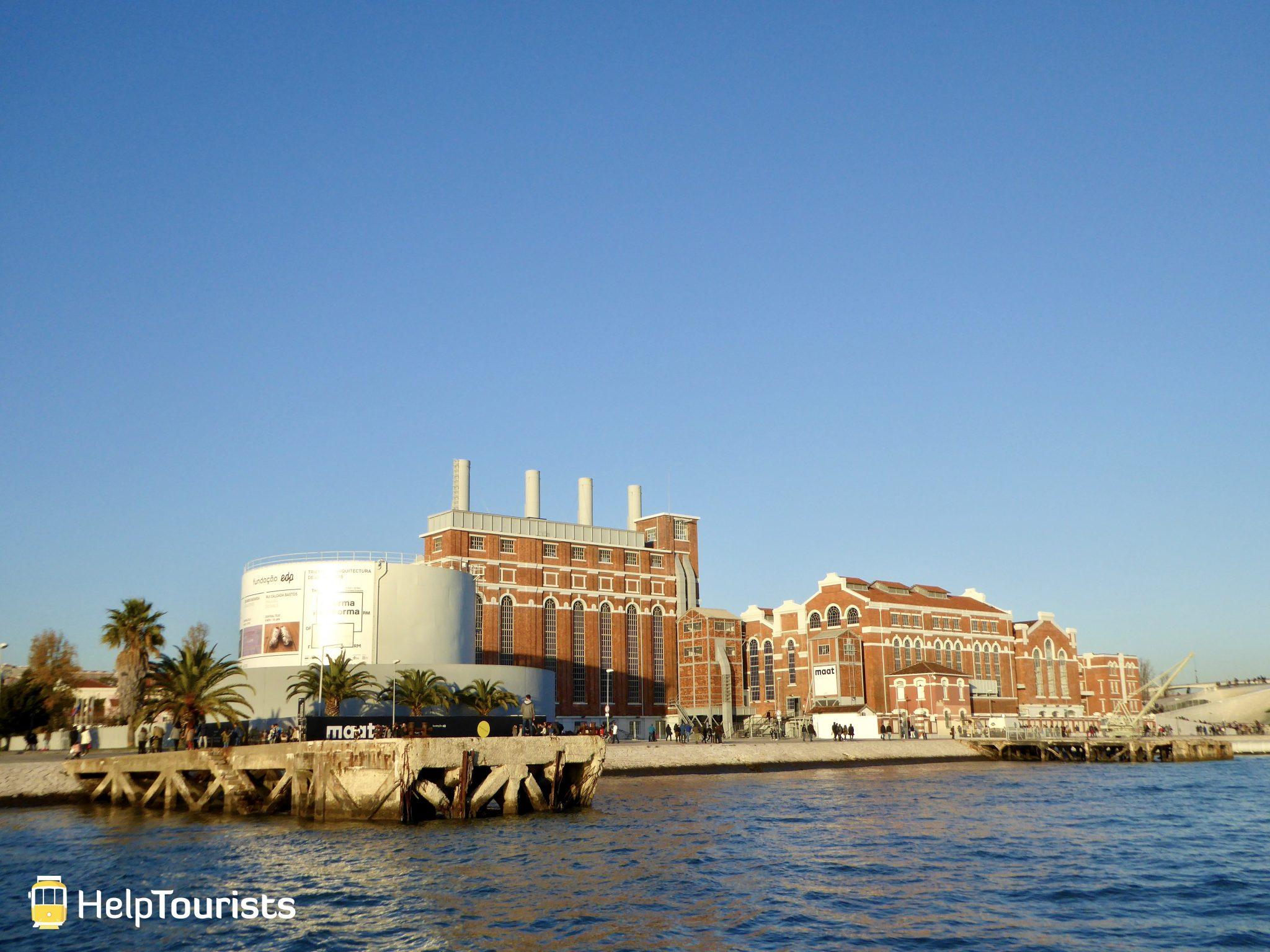 Lissabon Boot Belém MAAT