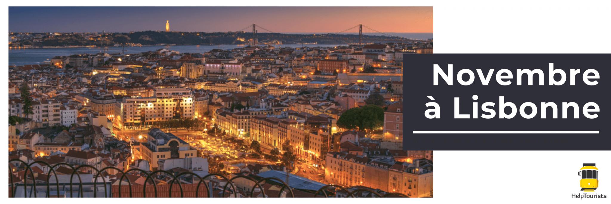 Novembre à Lisbonne