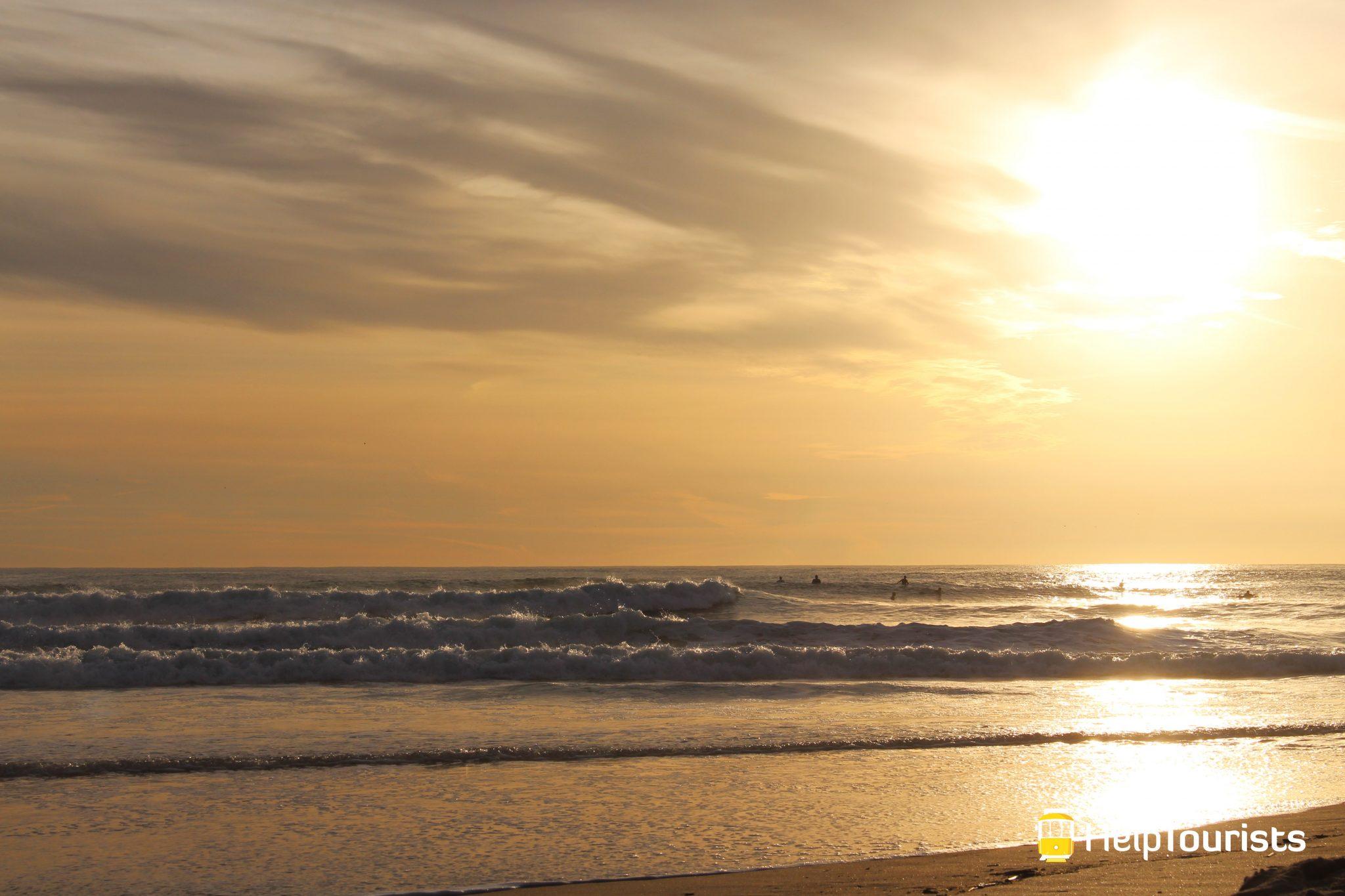 LISSABON_Carcavelos_Strand_Sonnenuntergang_Surfer_l