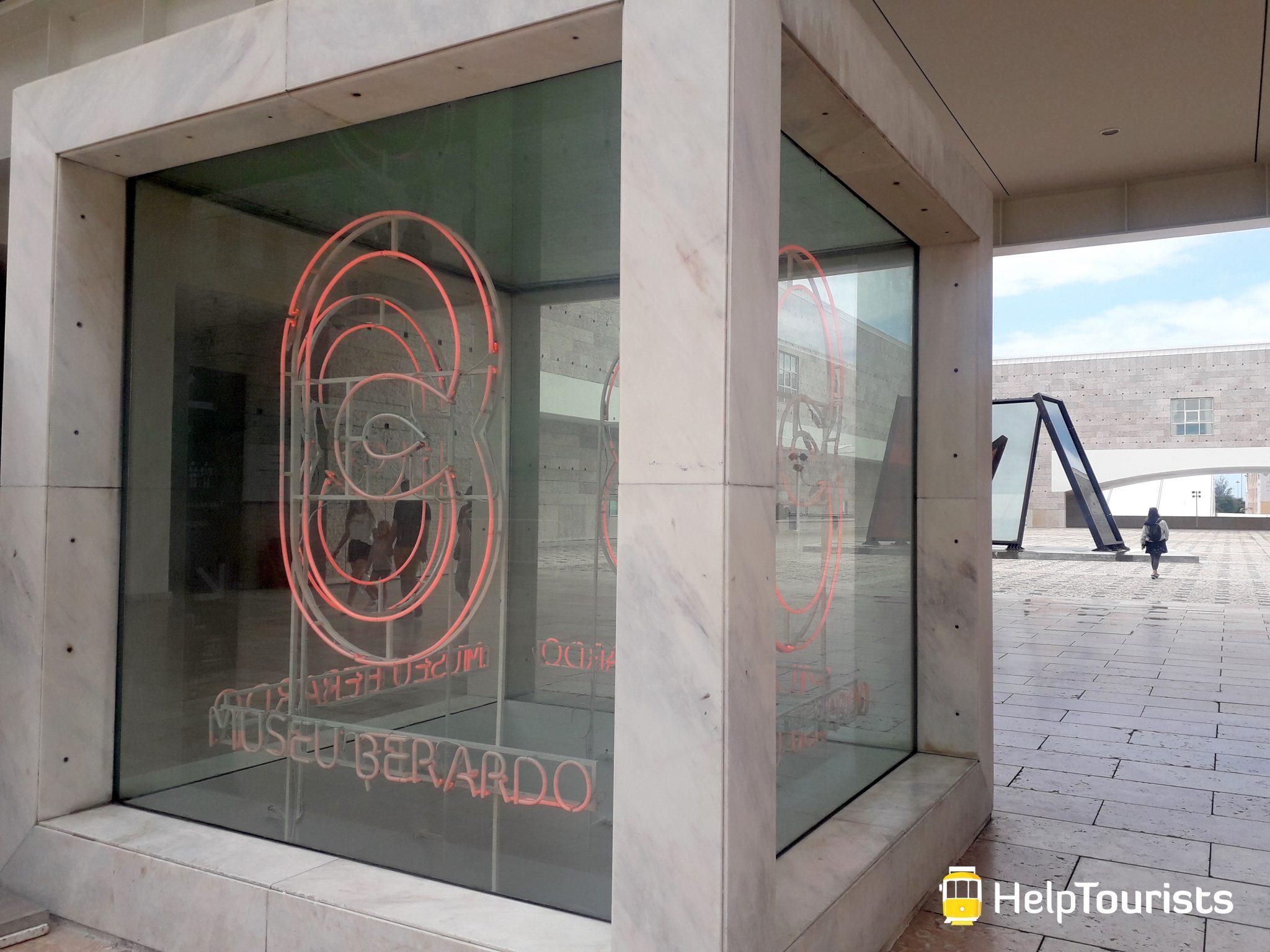 Lissabon Kulturzentrum berardo Belem