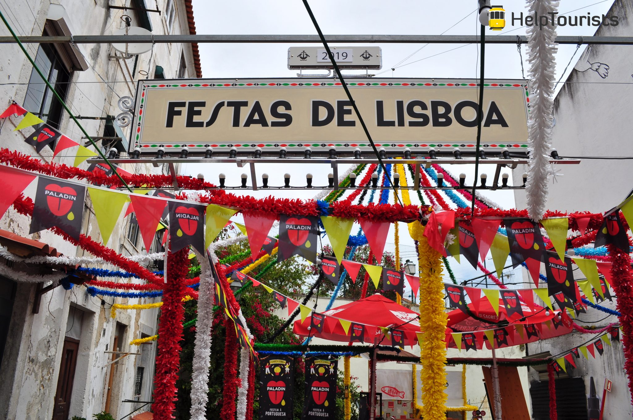 Lissabon Fest Juni Deko