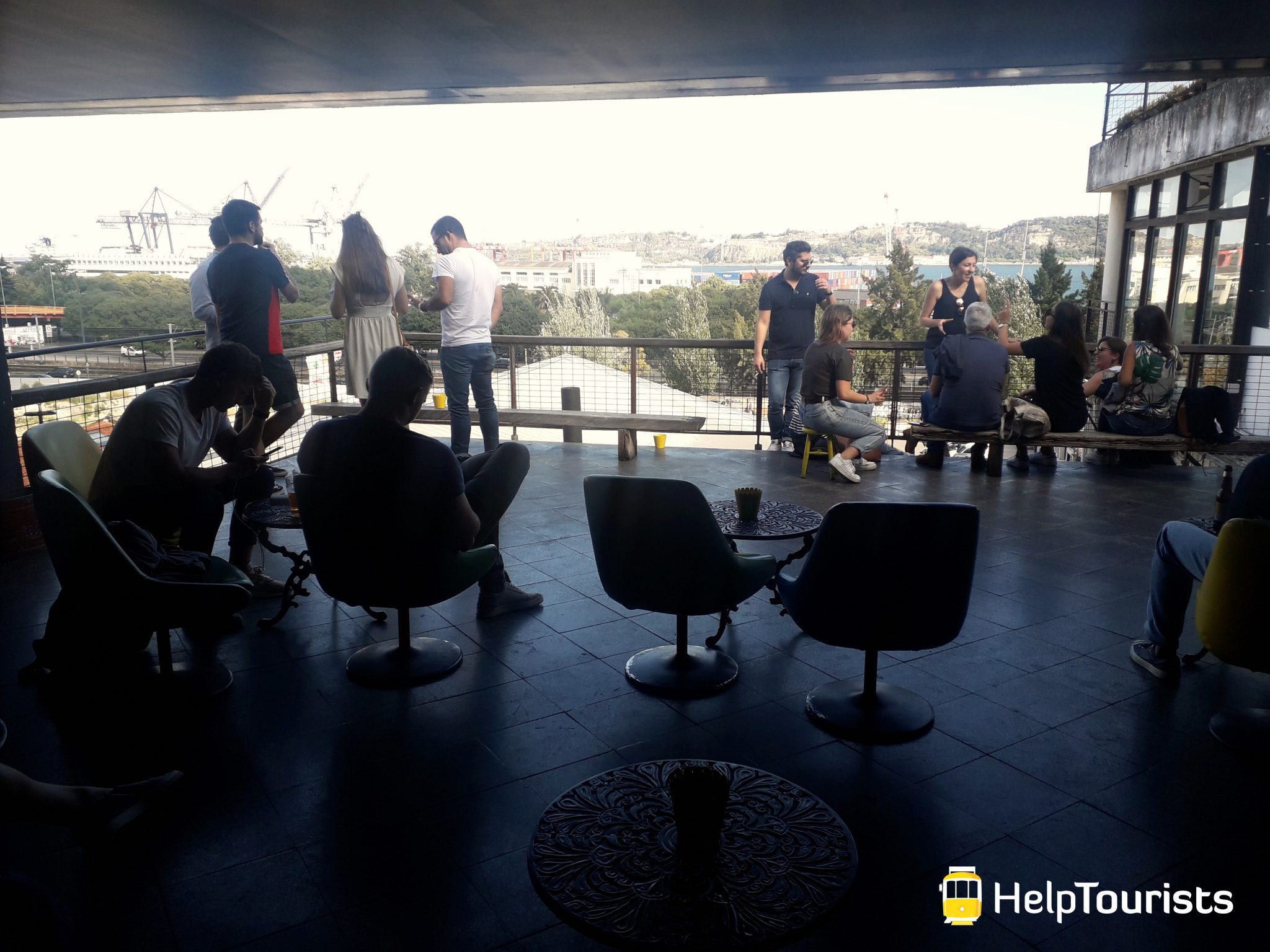 Lissabon lx factory_belem_bar_Aussicht