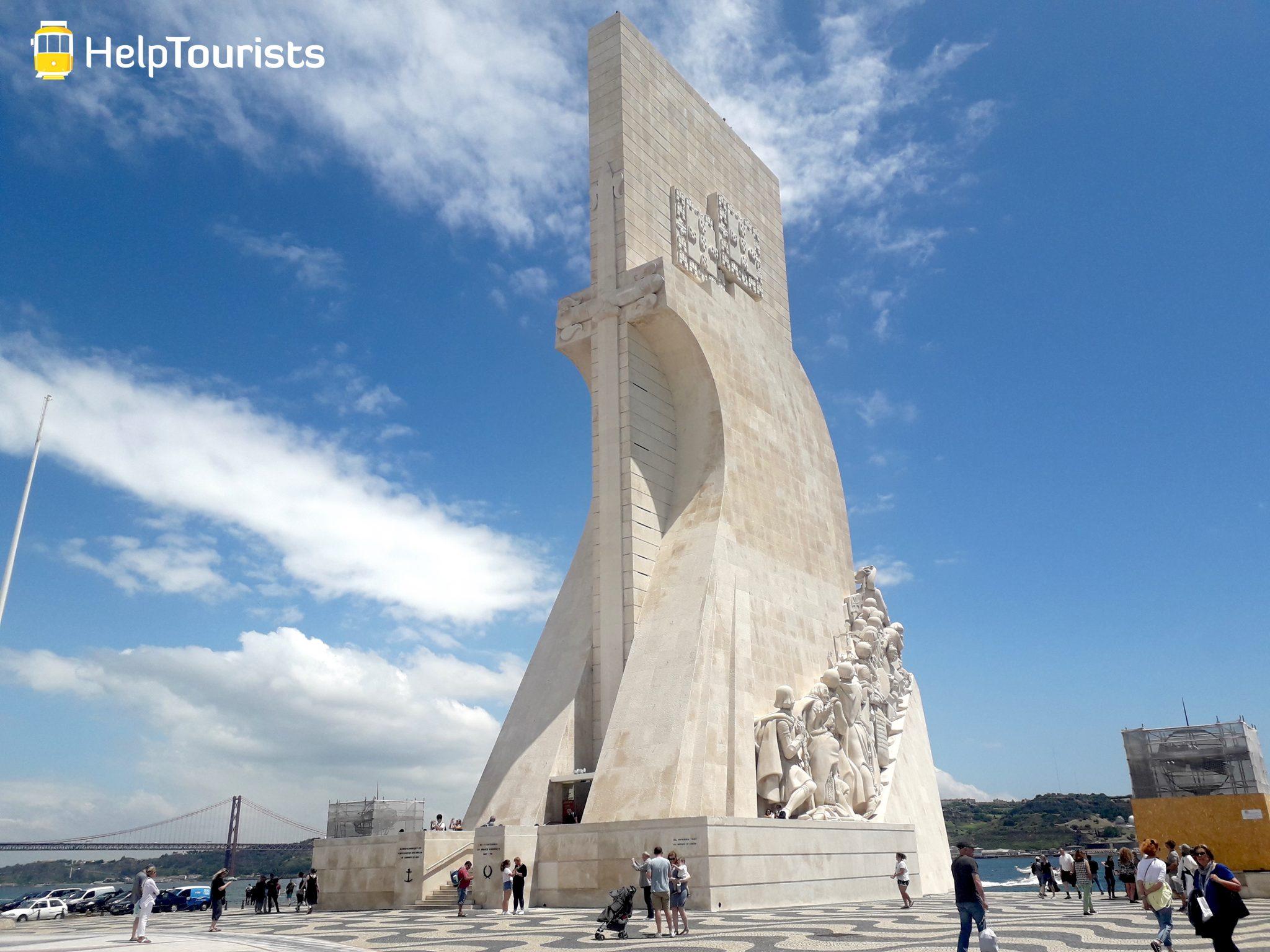 Lissabon monument der Entdeckungen