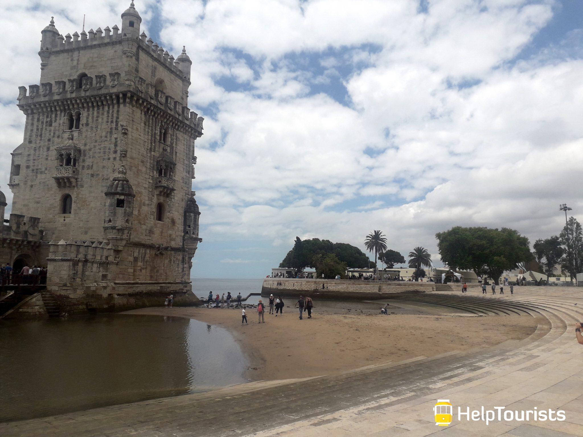 Lissabon Turm von belem Kinder