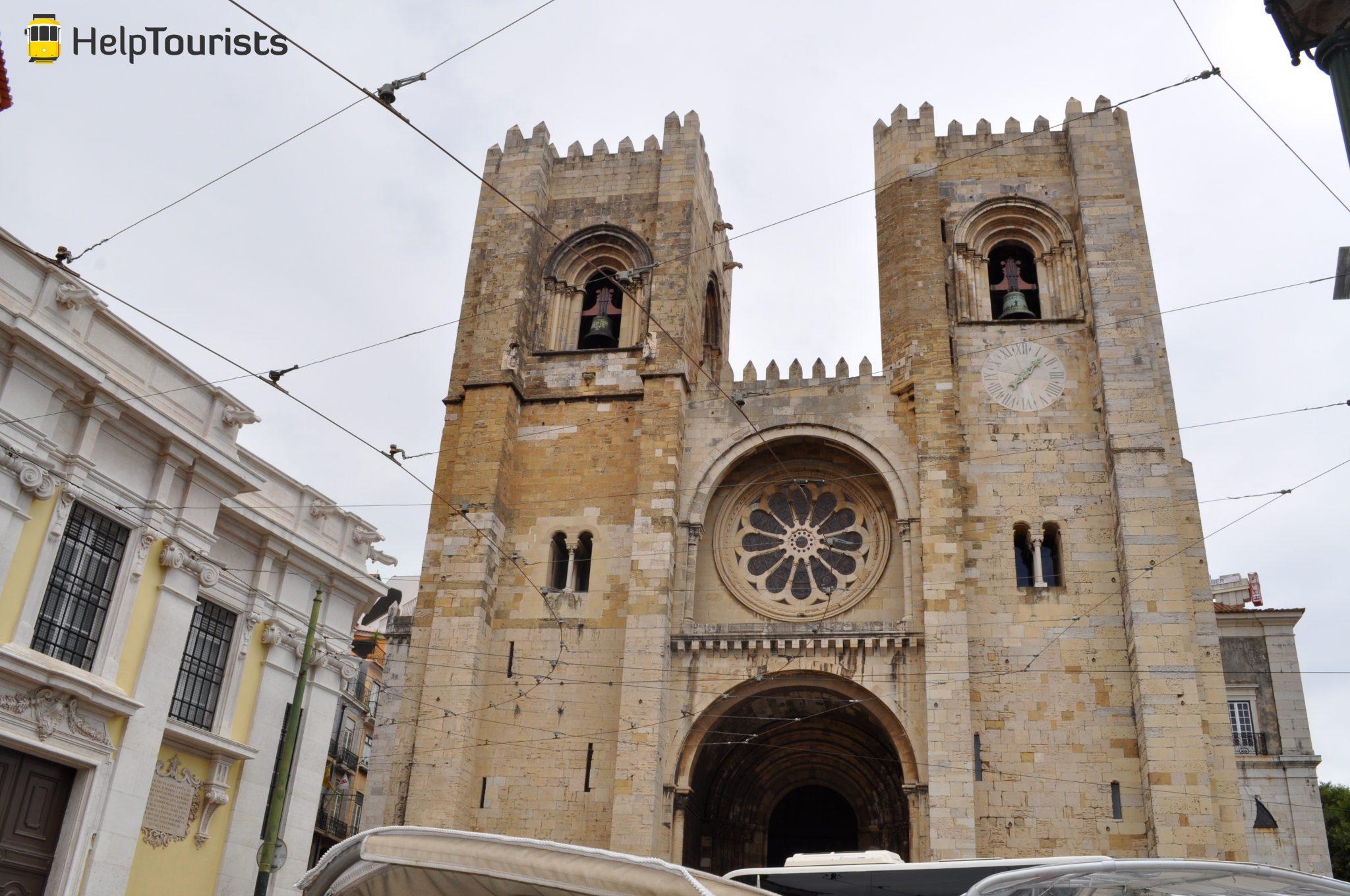 Lissabon Kathedrale Sé außen