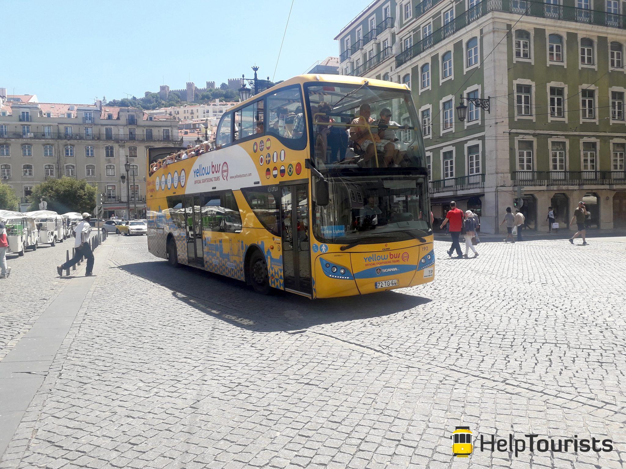 Lissabon Yellow Bus Stadtrundfahrt