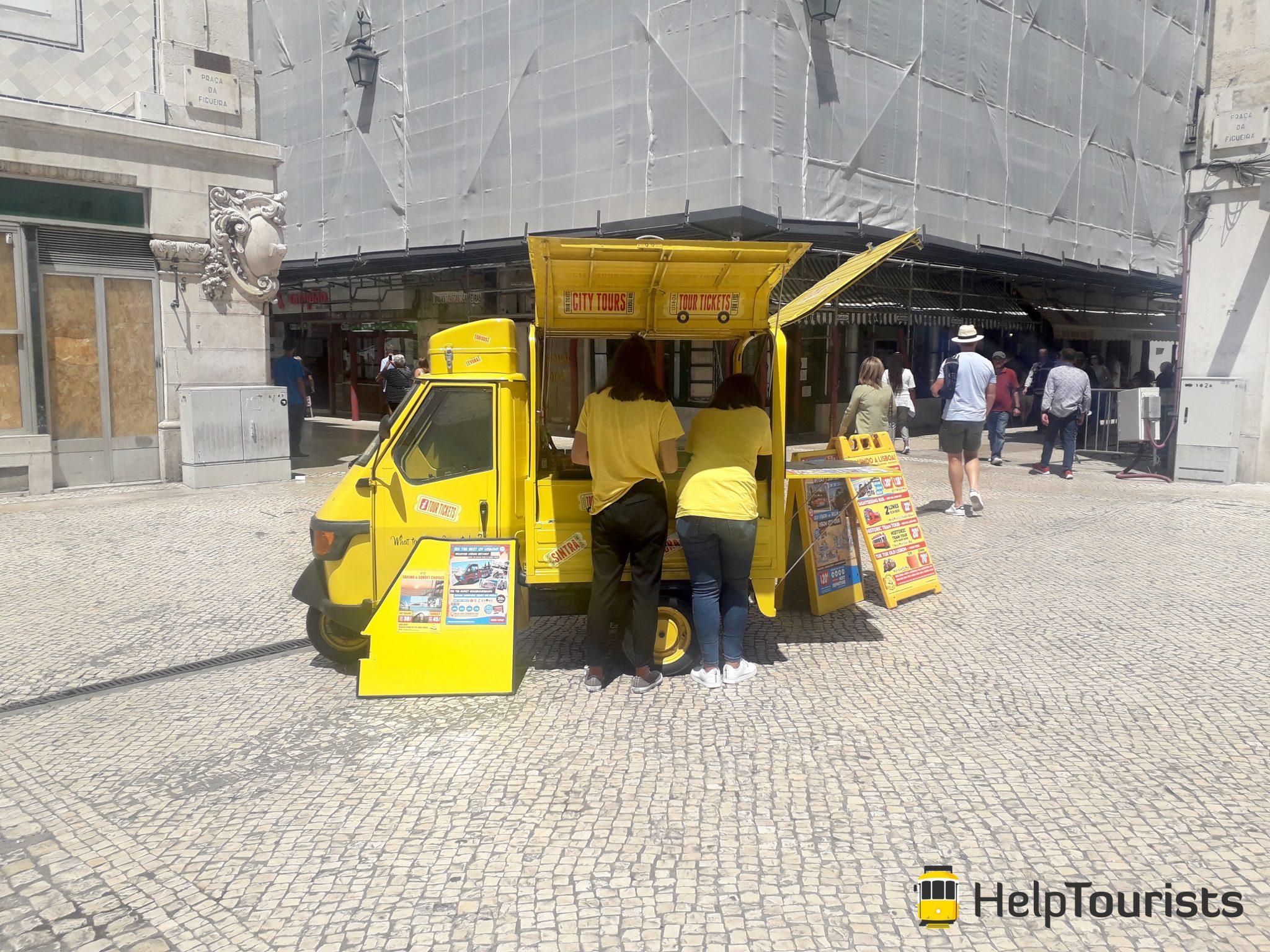 Lisbonne Yellow Bus billets