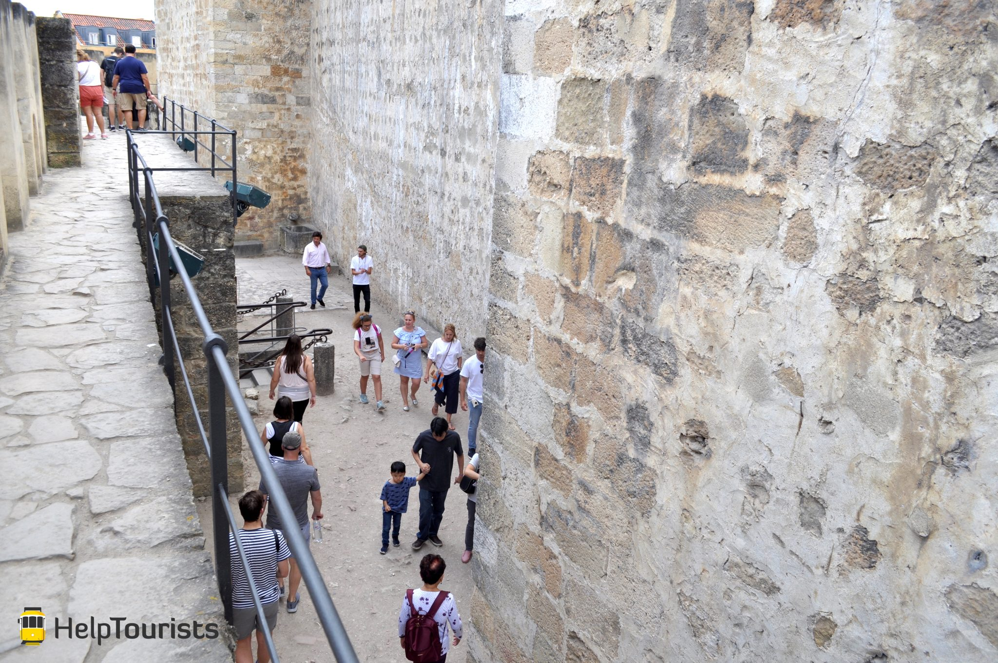 Lissabon Castelo de sao jorge besichtigung