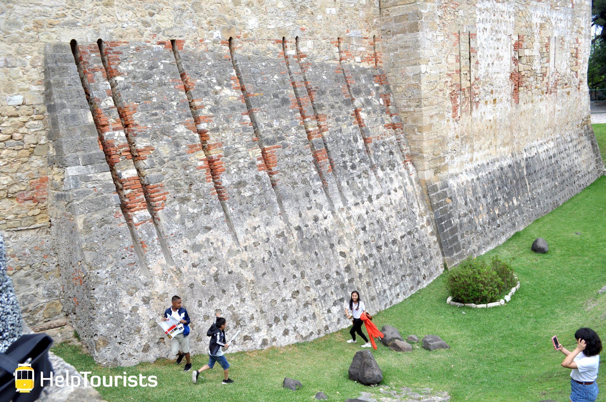 Lissabon castelo de sao jorge kinder