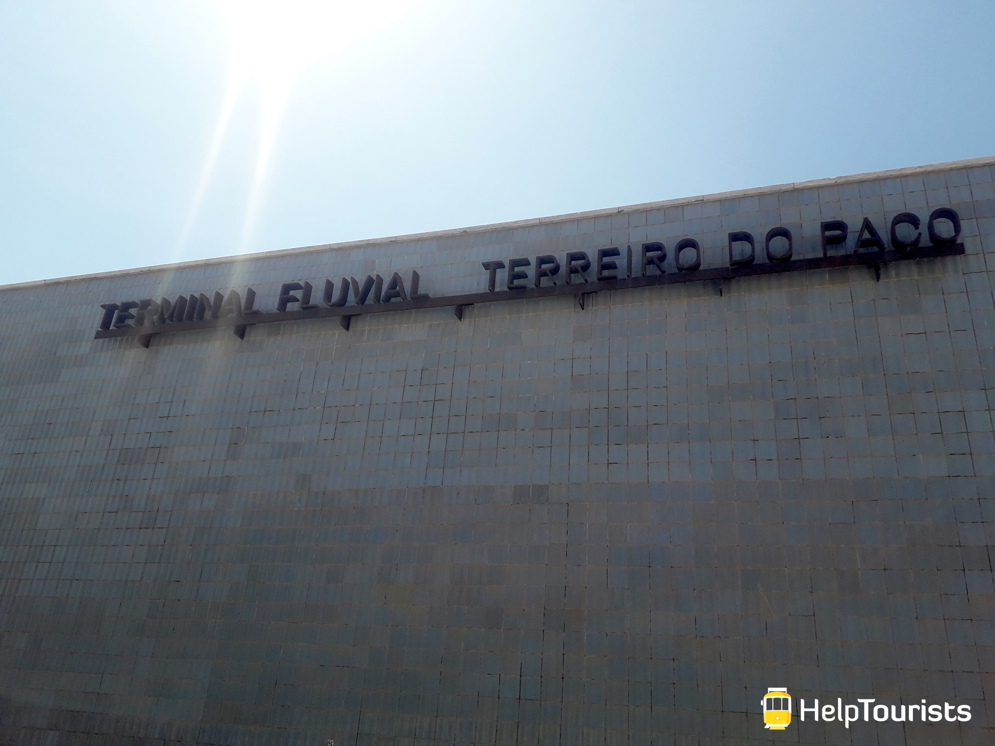 Lissabon Fähre Terreiro do paco