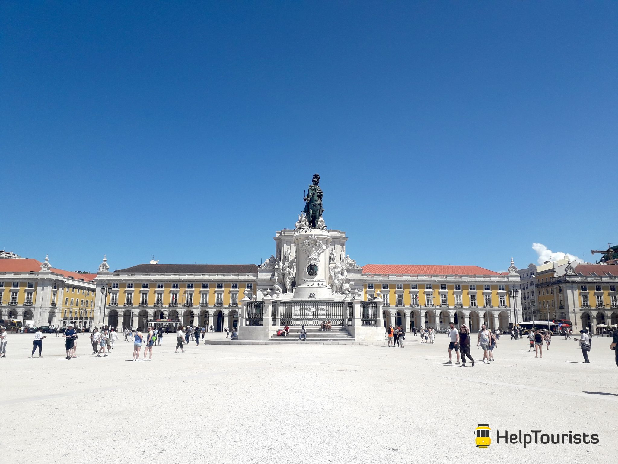 Lissabon Handelsplatz
