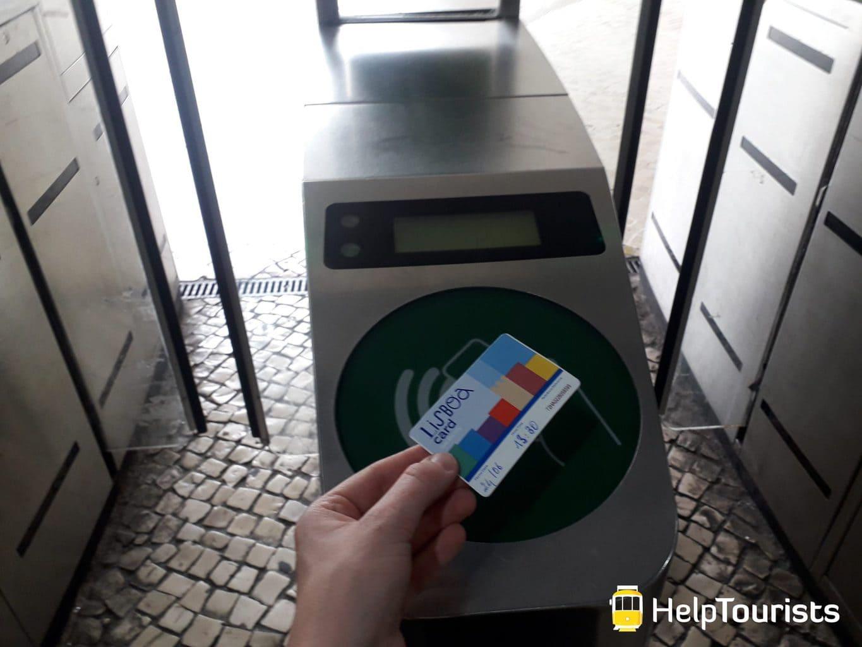 Lissabon Zug Lisboa Card