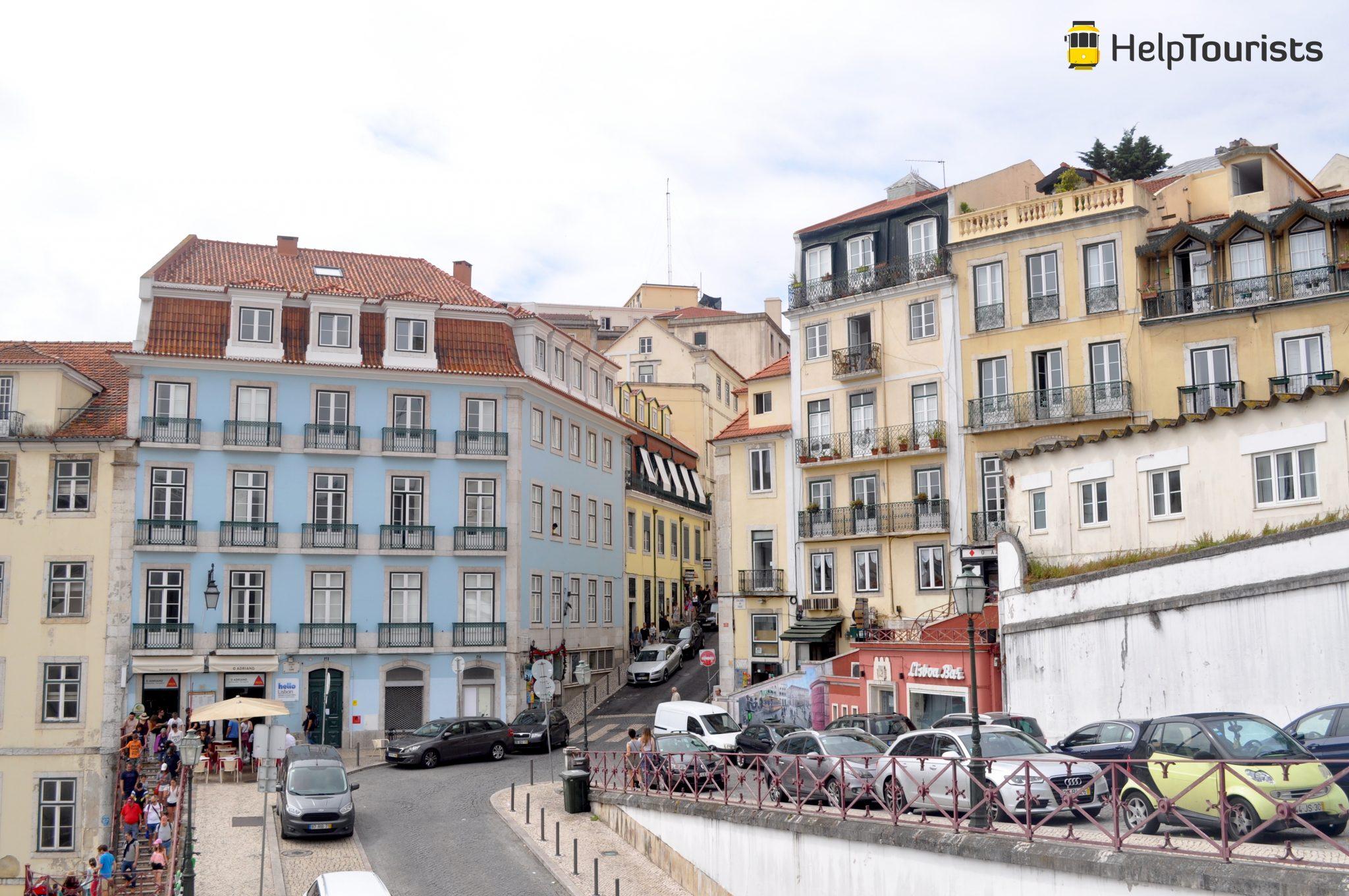 Lissabon 7 Hügel Aussicht