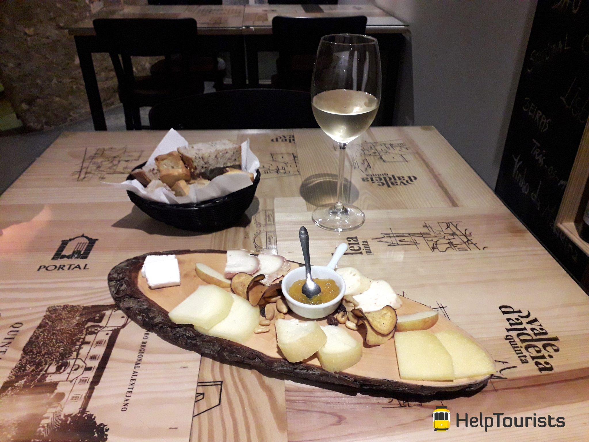 Lisbonne fromage et vin