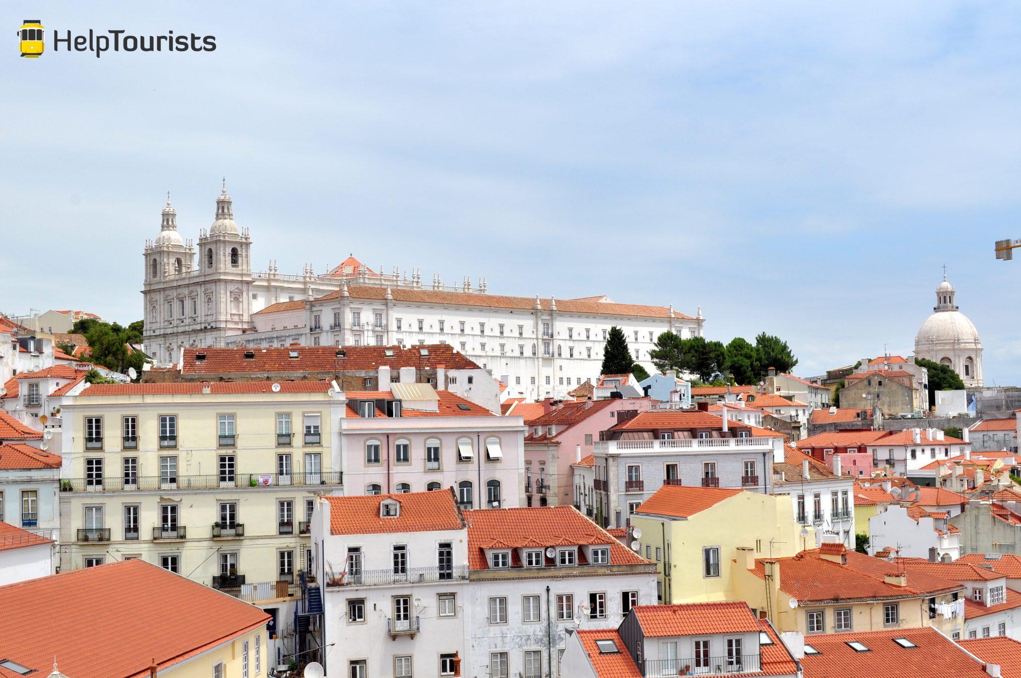 Lissabon Alfama Viertel Aussicht