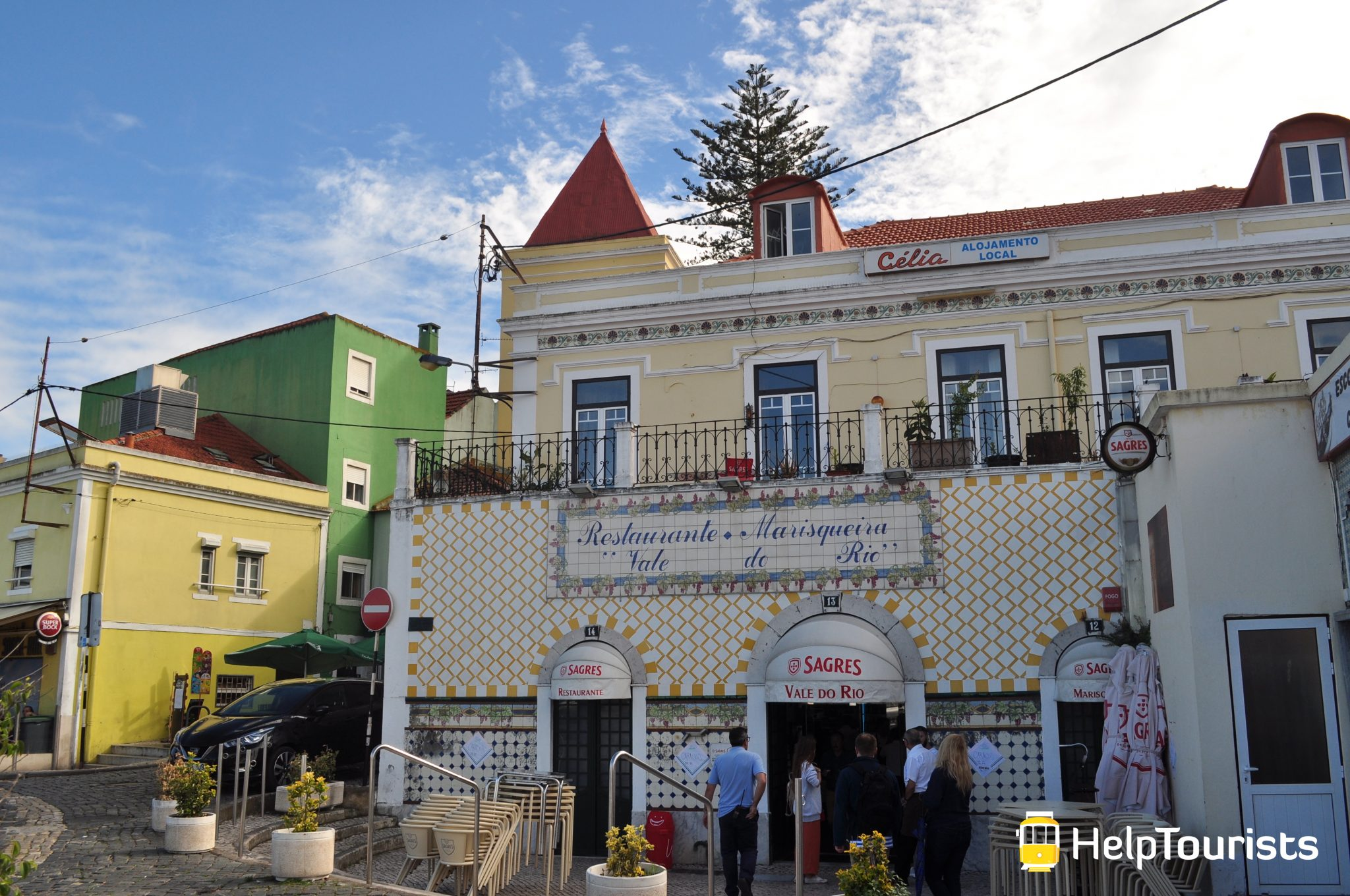 Lissabon Südufer Restaurant