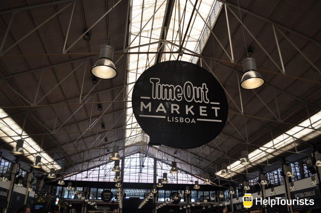 Lissabon Time out markt