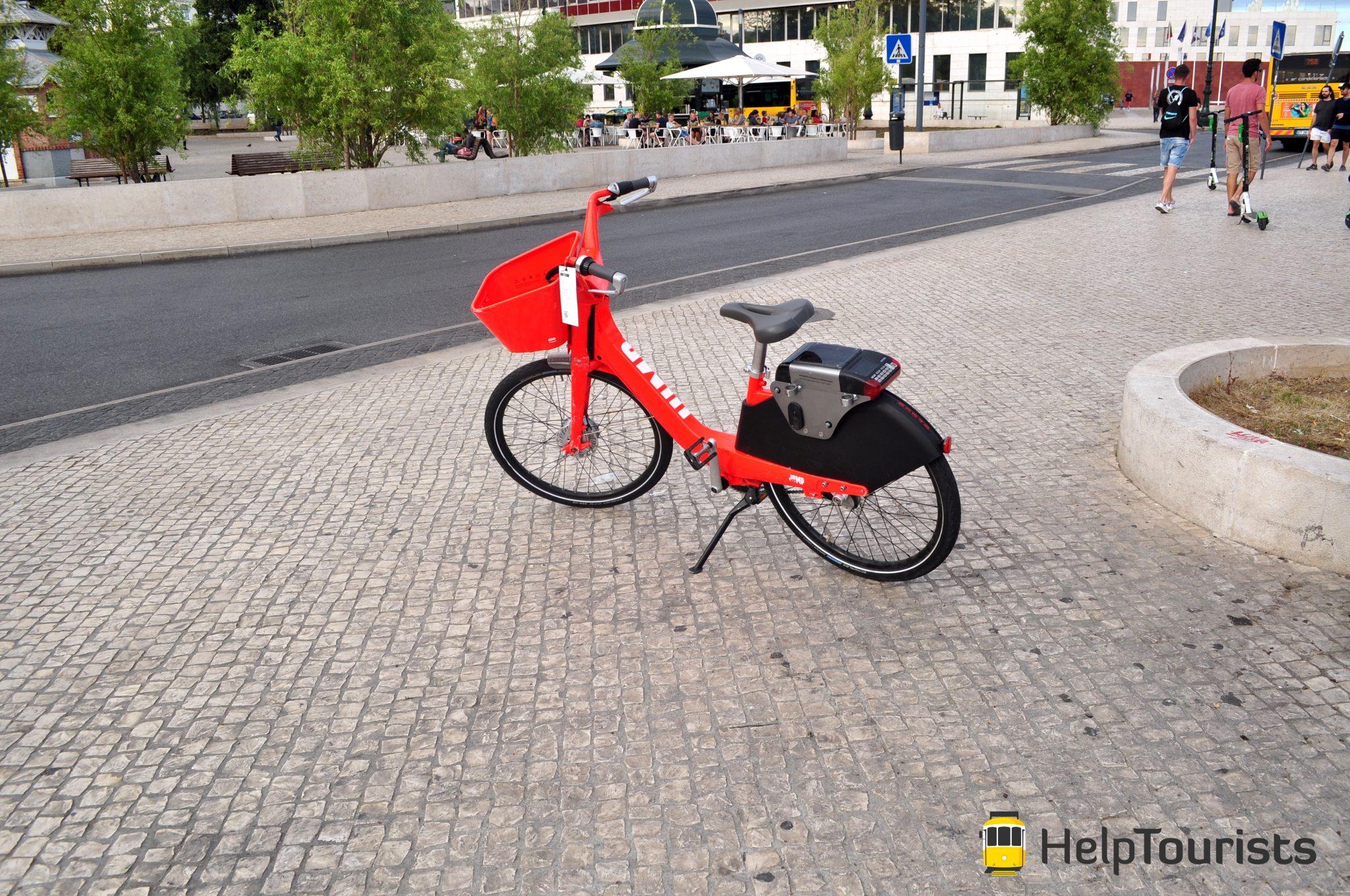 Lissabon Fahrrad ausleihen
