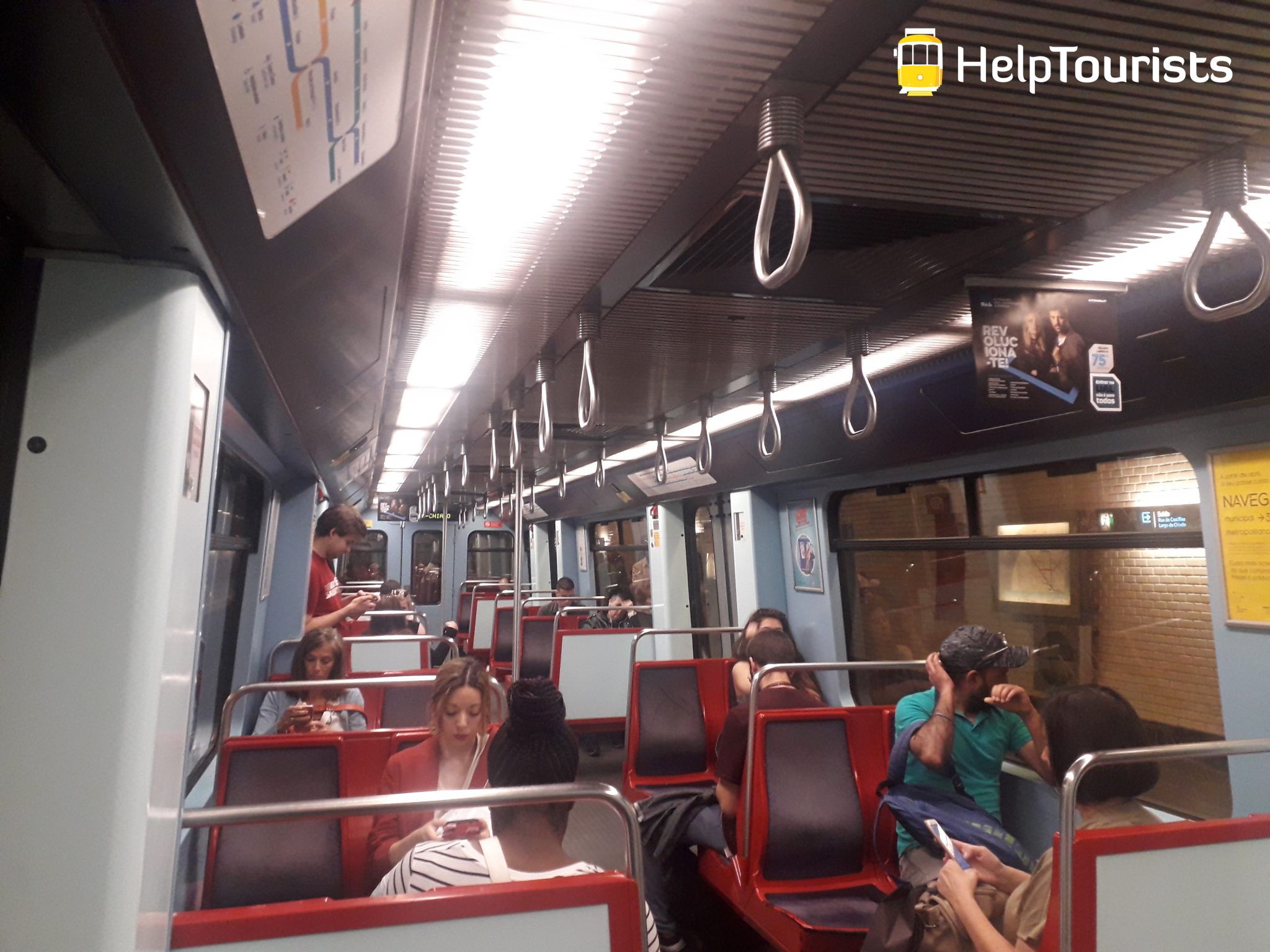 Lissabon U-Bahn Wagon