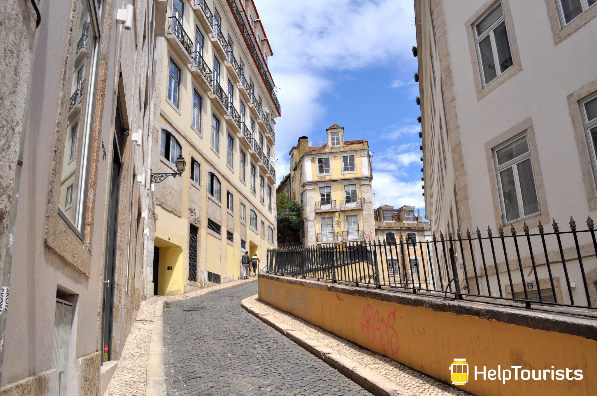 Lissabon Viertel Bairro Alto
