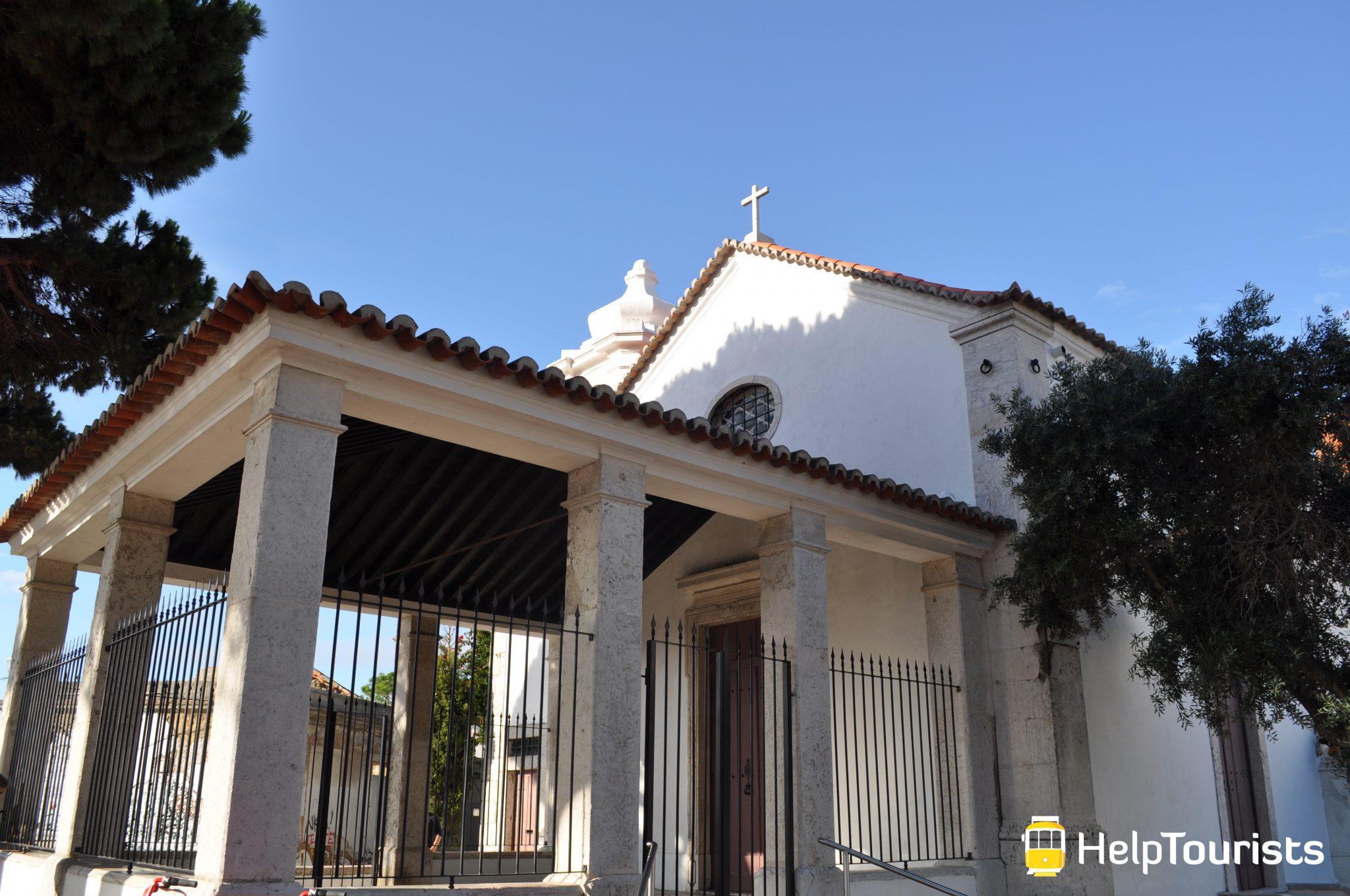 Lissabon Viertel Graca Kirche I