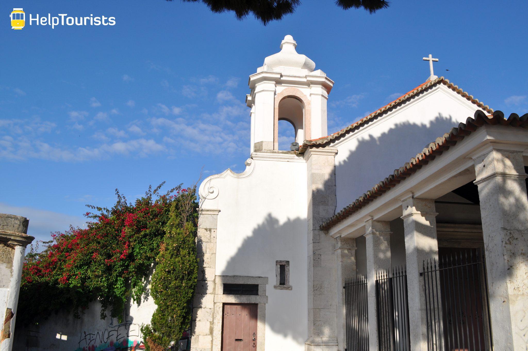 Lissabon Viertel Graca Kirche