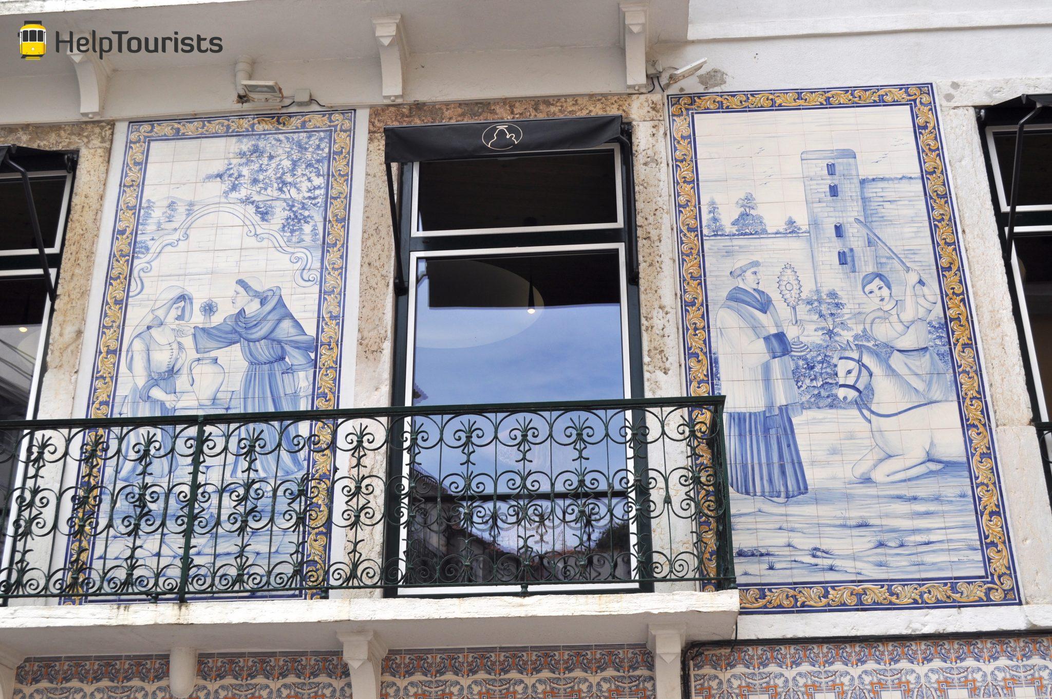 Lissabon Santo Antonio Alfama Azulejos